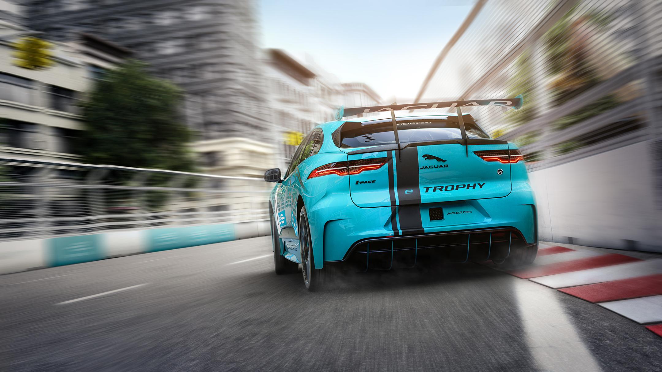 Jaguar I-PACE eTROPHY - 2017 - rear / arrière