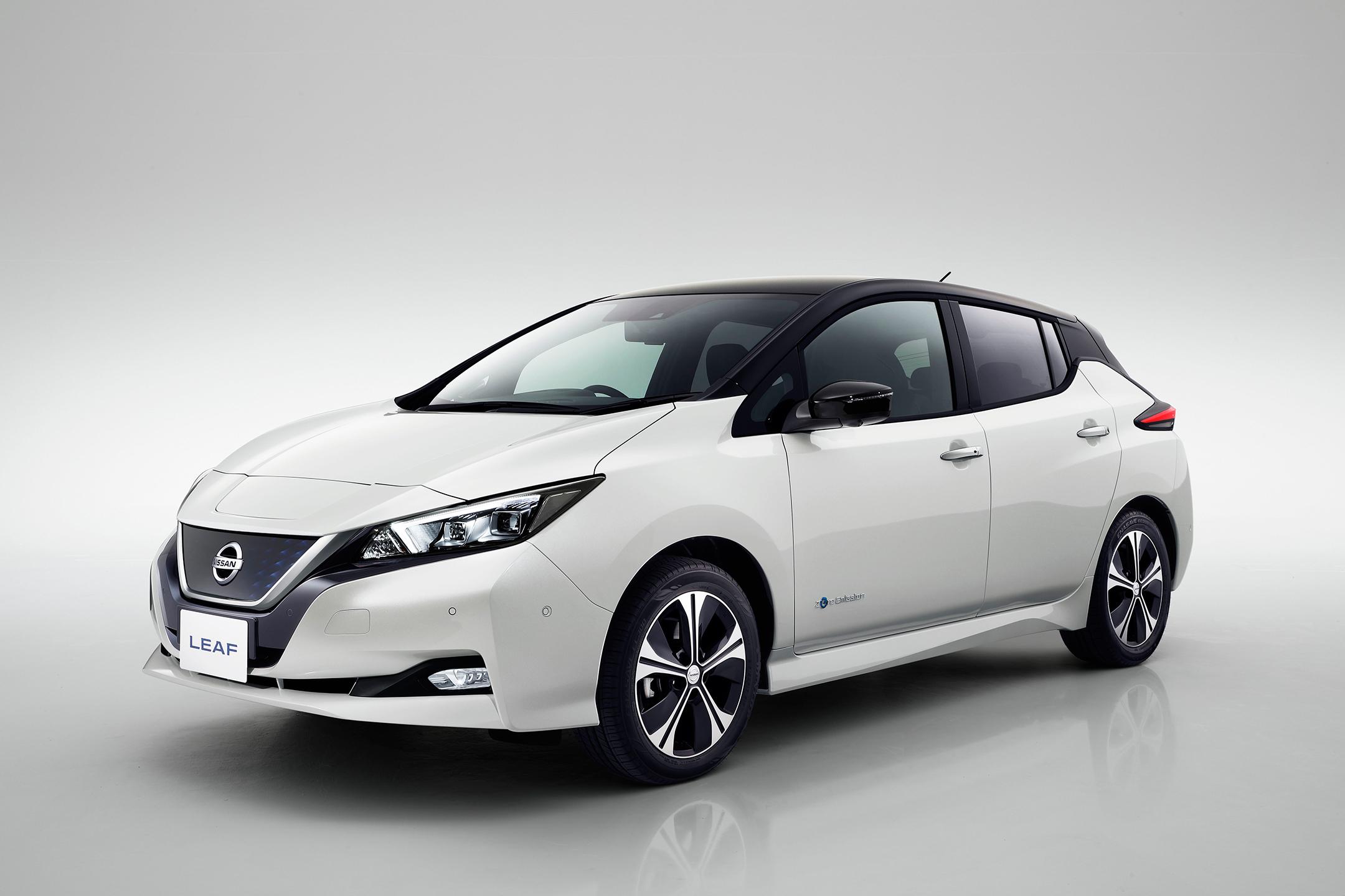 Nissan LEAF 2.0 - 2017 - front side-face / profil avant