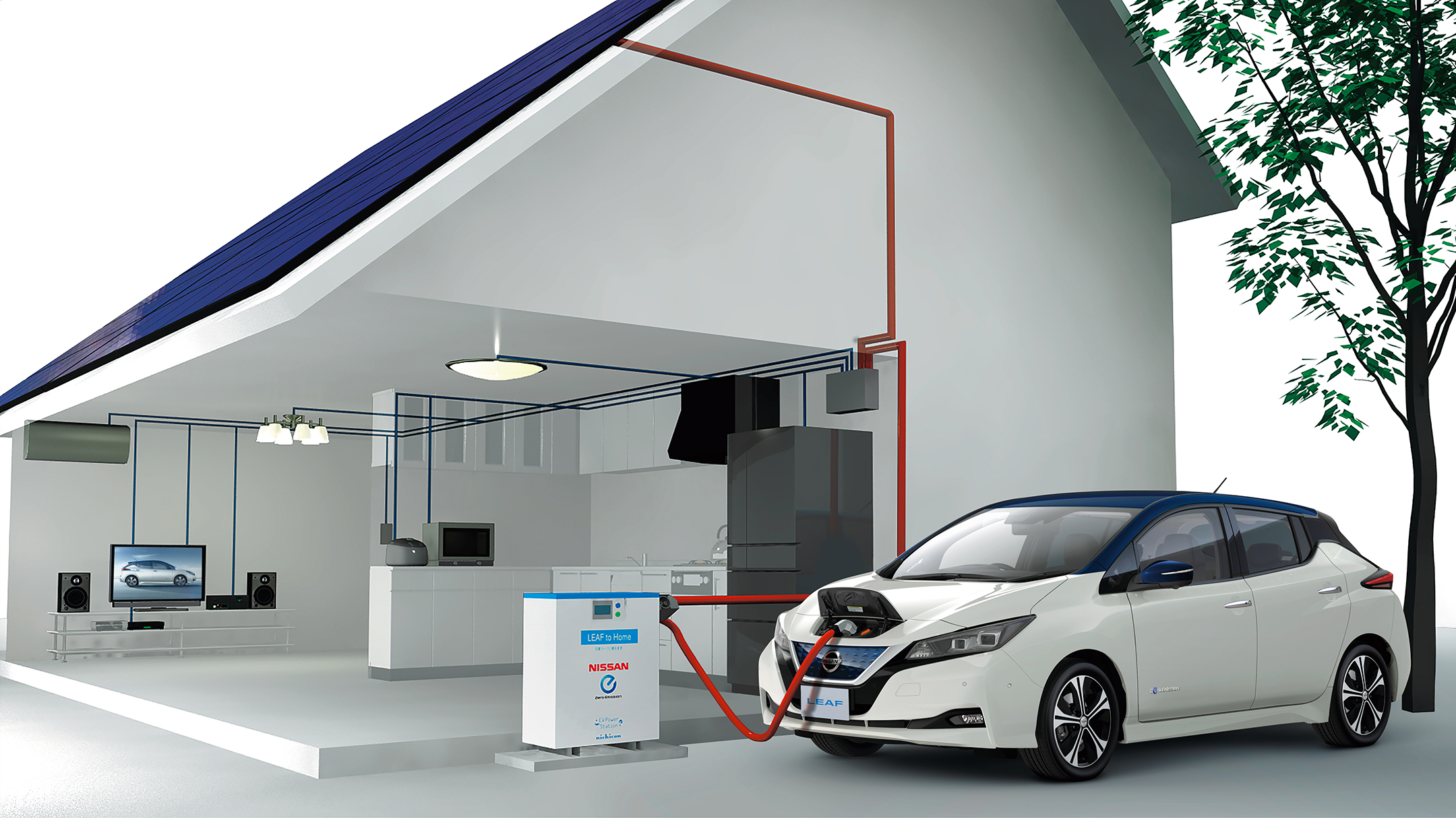 Nissan LEAF 2.0 - 2017 - xStorage Home
