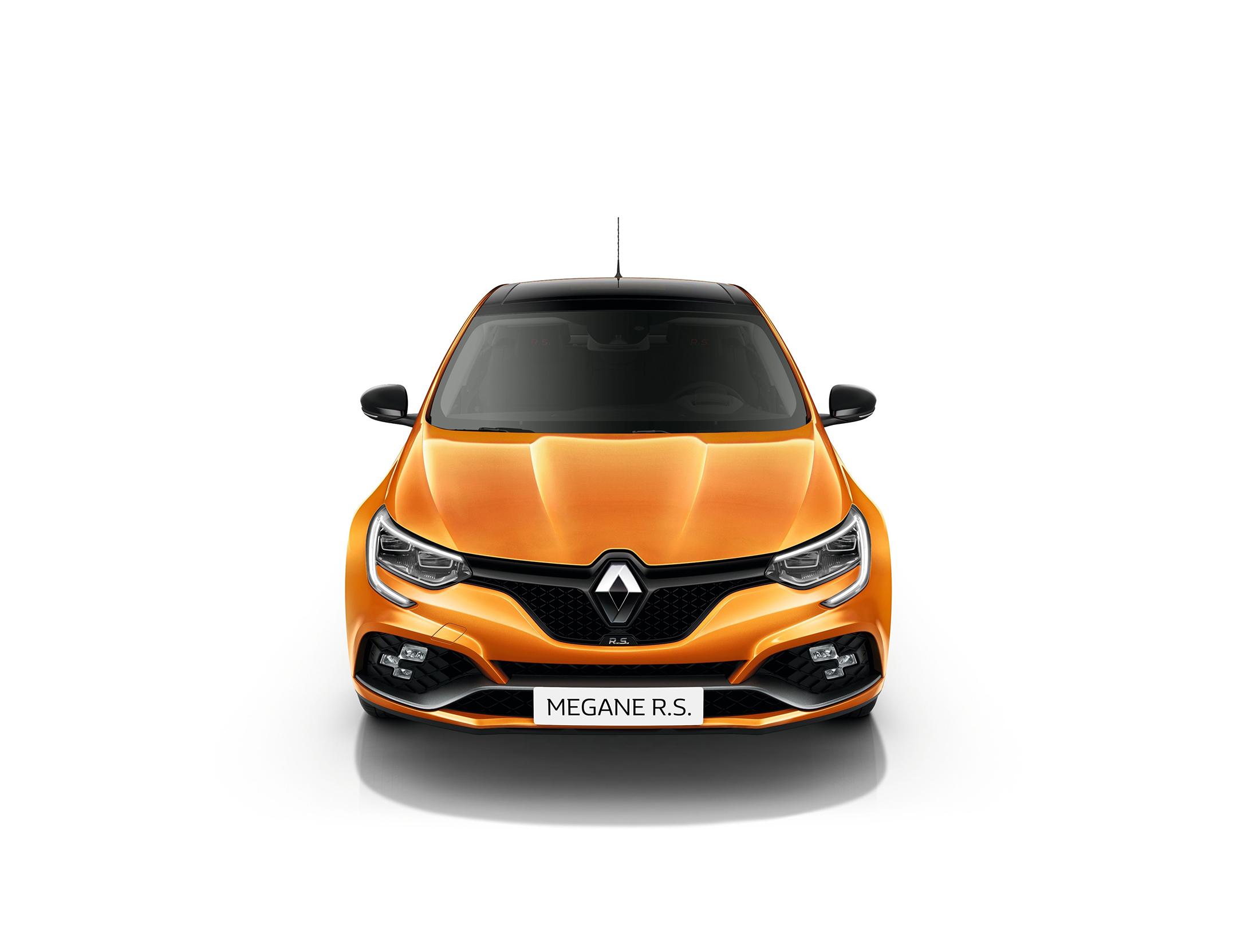 Renault Mégane R.S. - 2017 - front-face / face avant