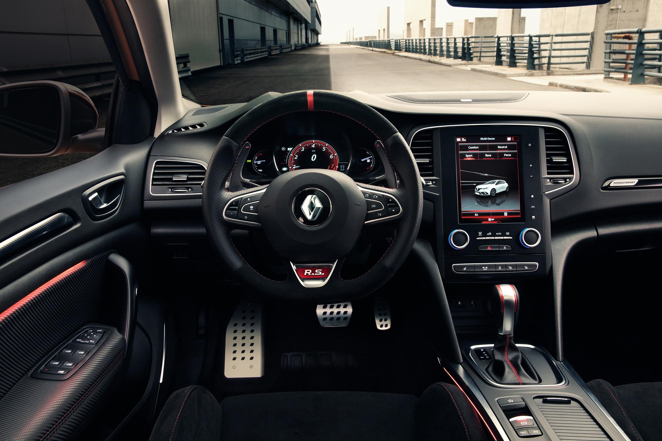 Renault Mégane R.S. - 2017 - interior / intérieur