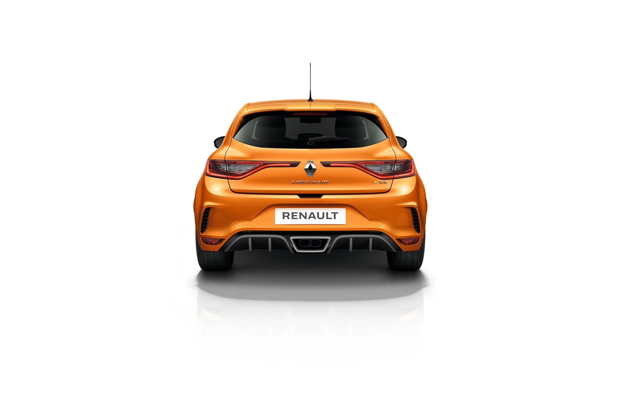 Renault Mégane R.S. - 2017 - rear-face / face arrière