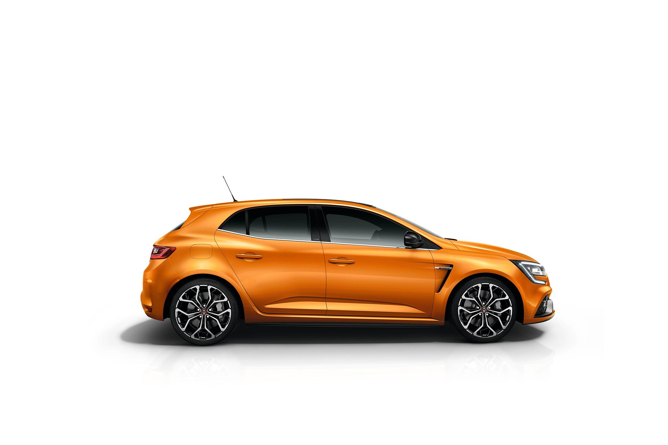 Renault Mégane R.S. - 2017 - side-face / profil
