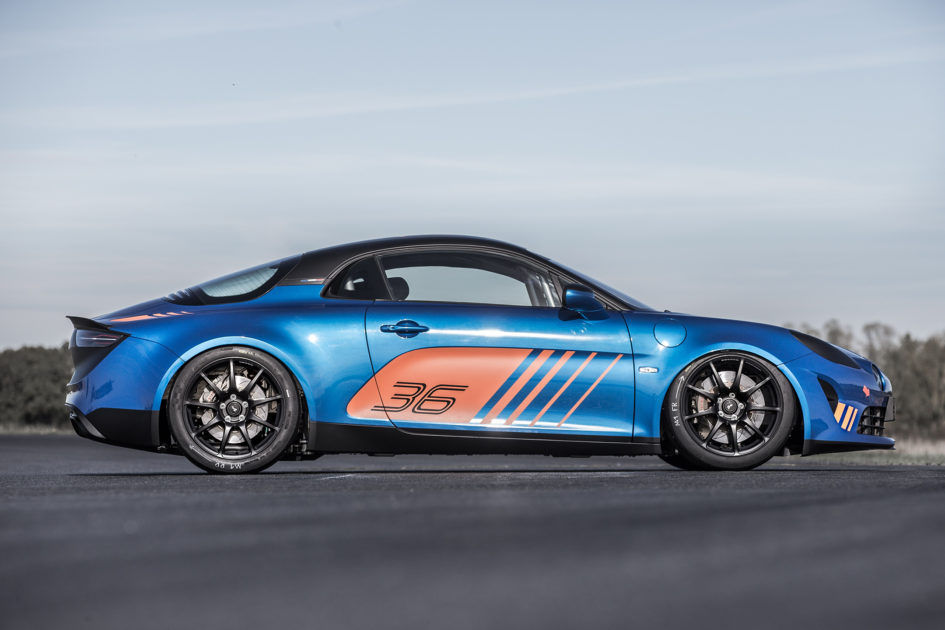 Alpine A110 Cup - 2017 - side-face / profil