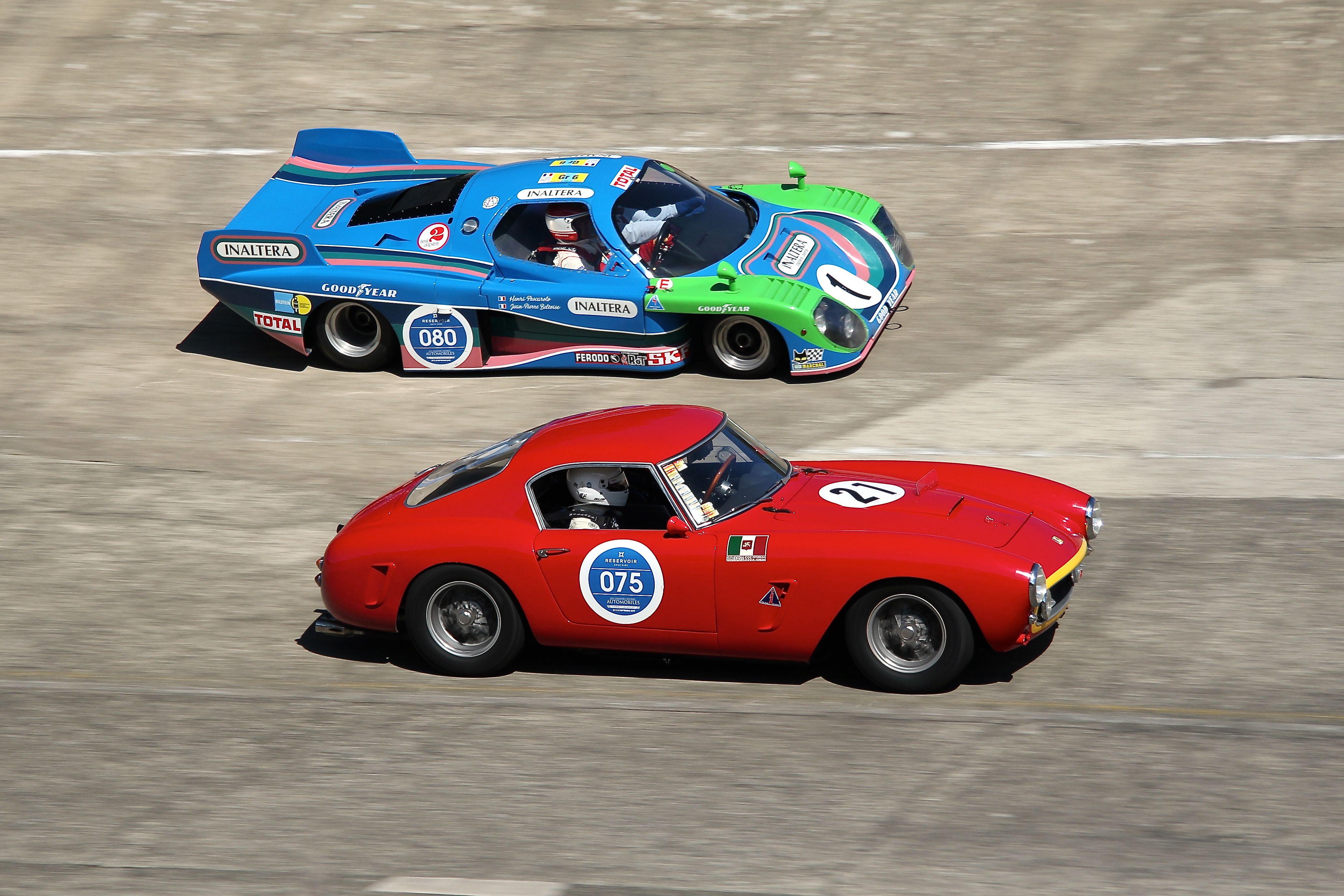 Inaltera vs Ferrari 250GT SWB - Les Grandes Heures Automobiles 2017 - photo Ludo Ferrari
