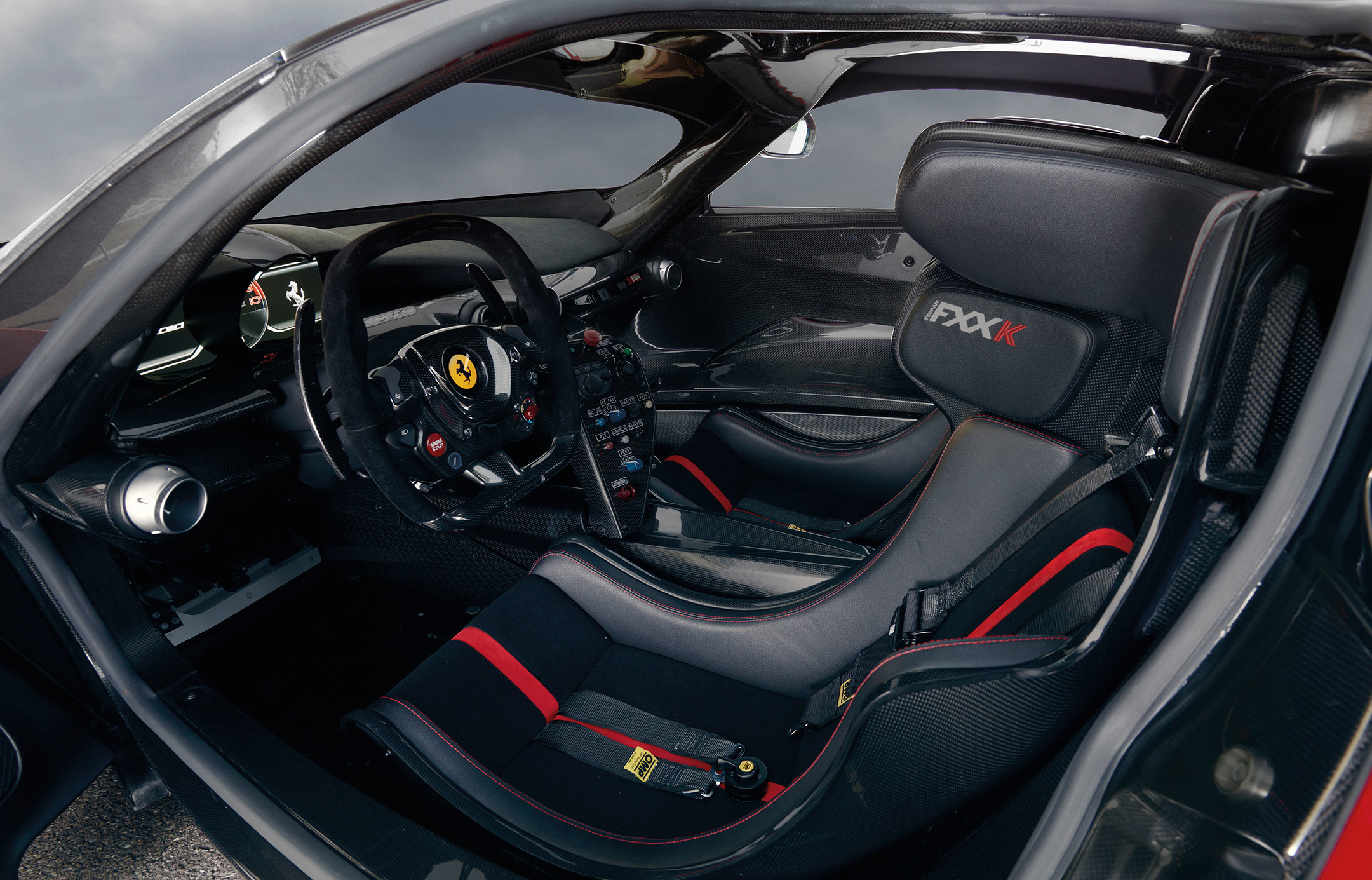 Ferrari FXX K - 2015 - interior / intérieur