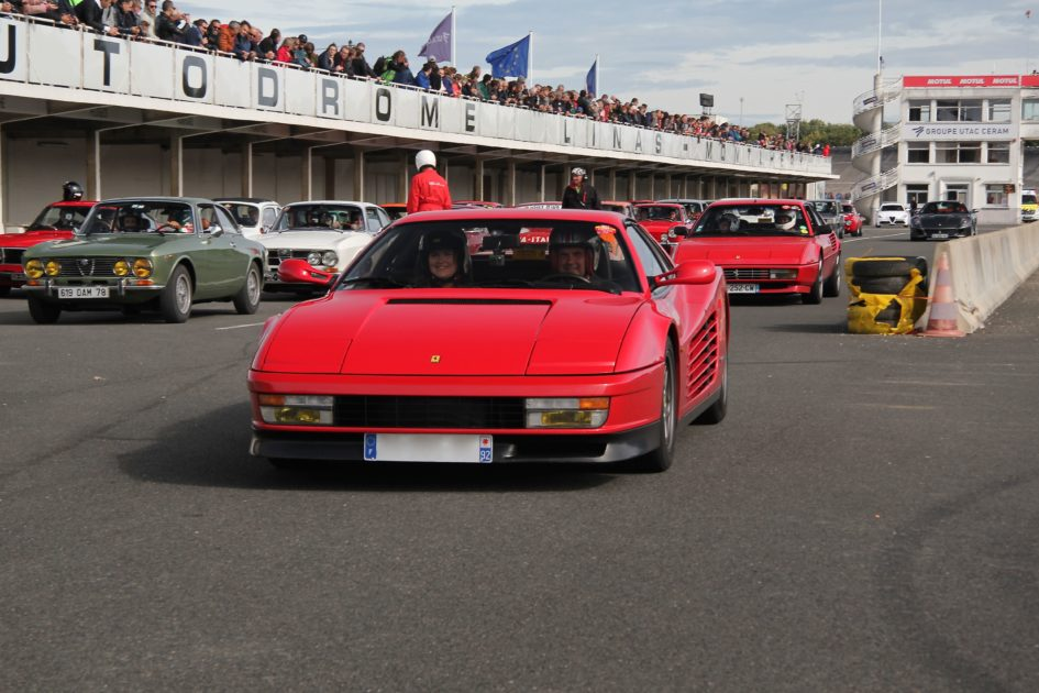 Ferrari Testarossa - Italian Meeting 2017 - photo Ludo Ferrari