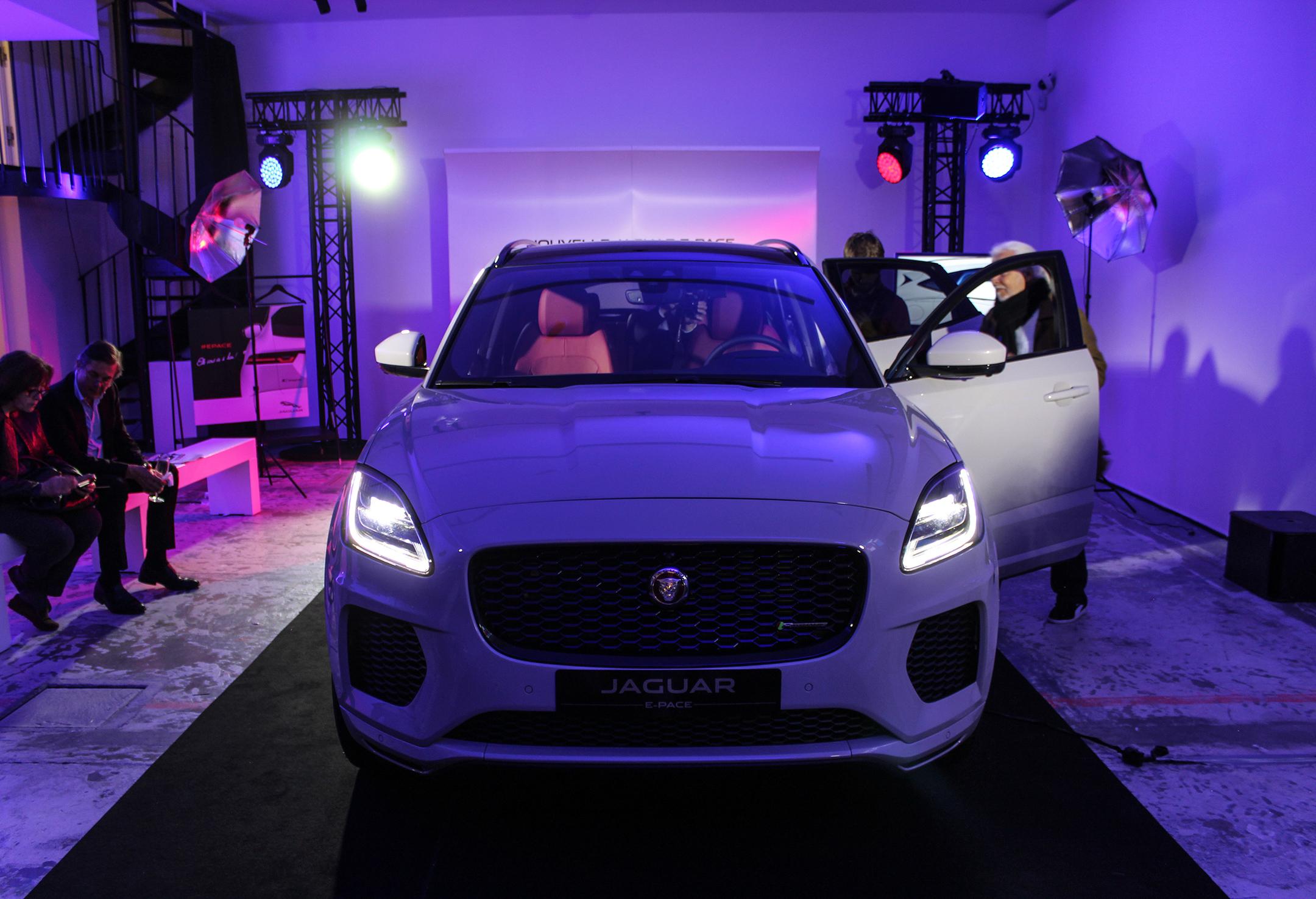 Jaguar E-PACE - 2017 - front - avant-première Jaguar France - photo by Arnaud Demasier RS Photographie