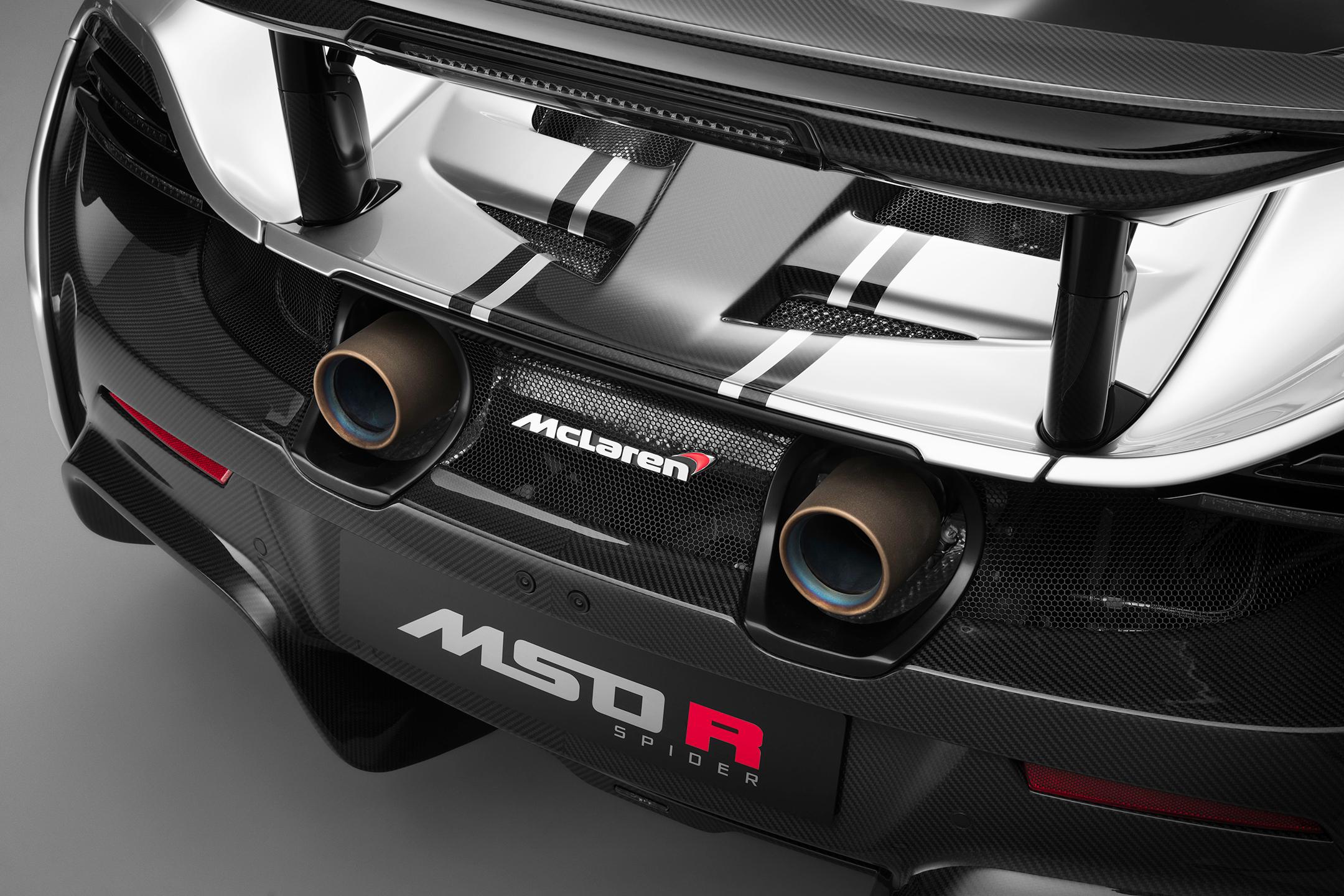 McLaren MSO R Coupé - 2017 - rear zoom