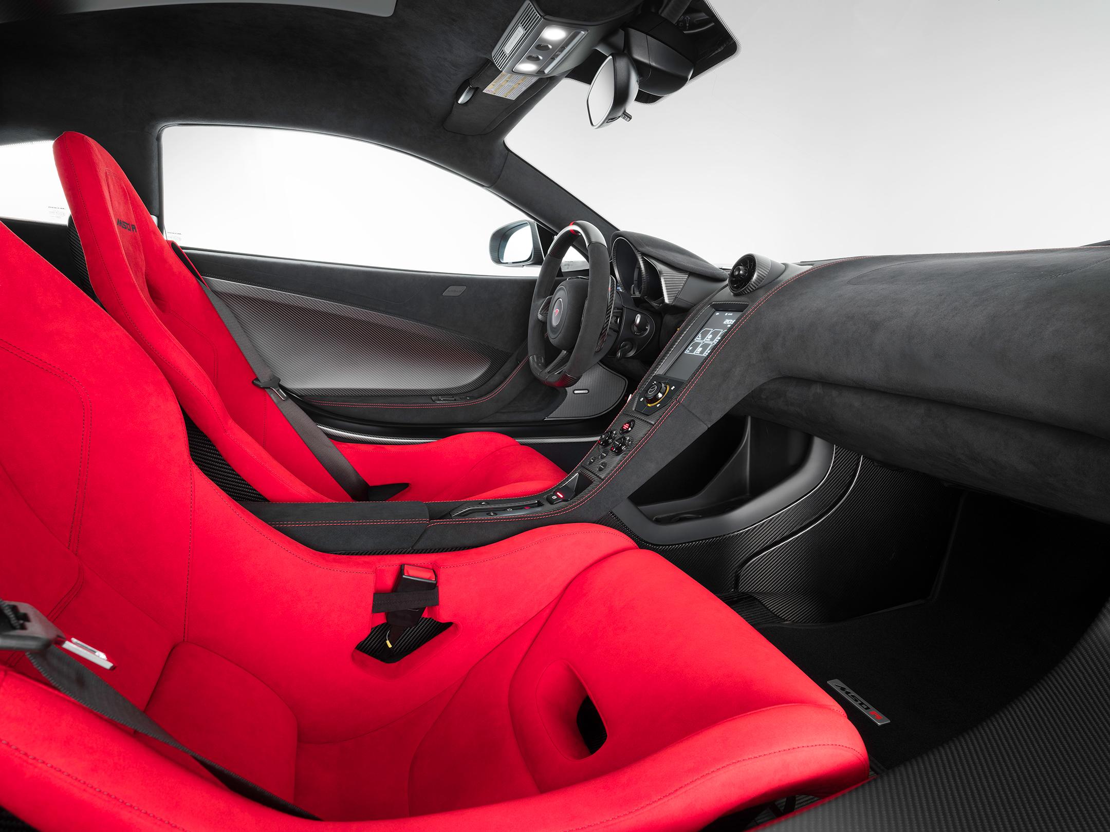 McLaren MSO R Coupé - 2017 - interior / intérieur