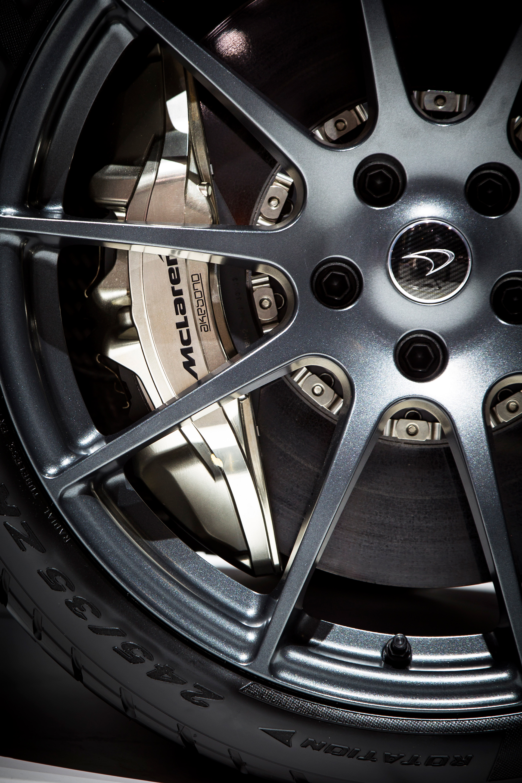 McLaren P1 - 2013 - brake disc - caliper / étrier - disque de frein