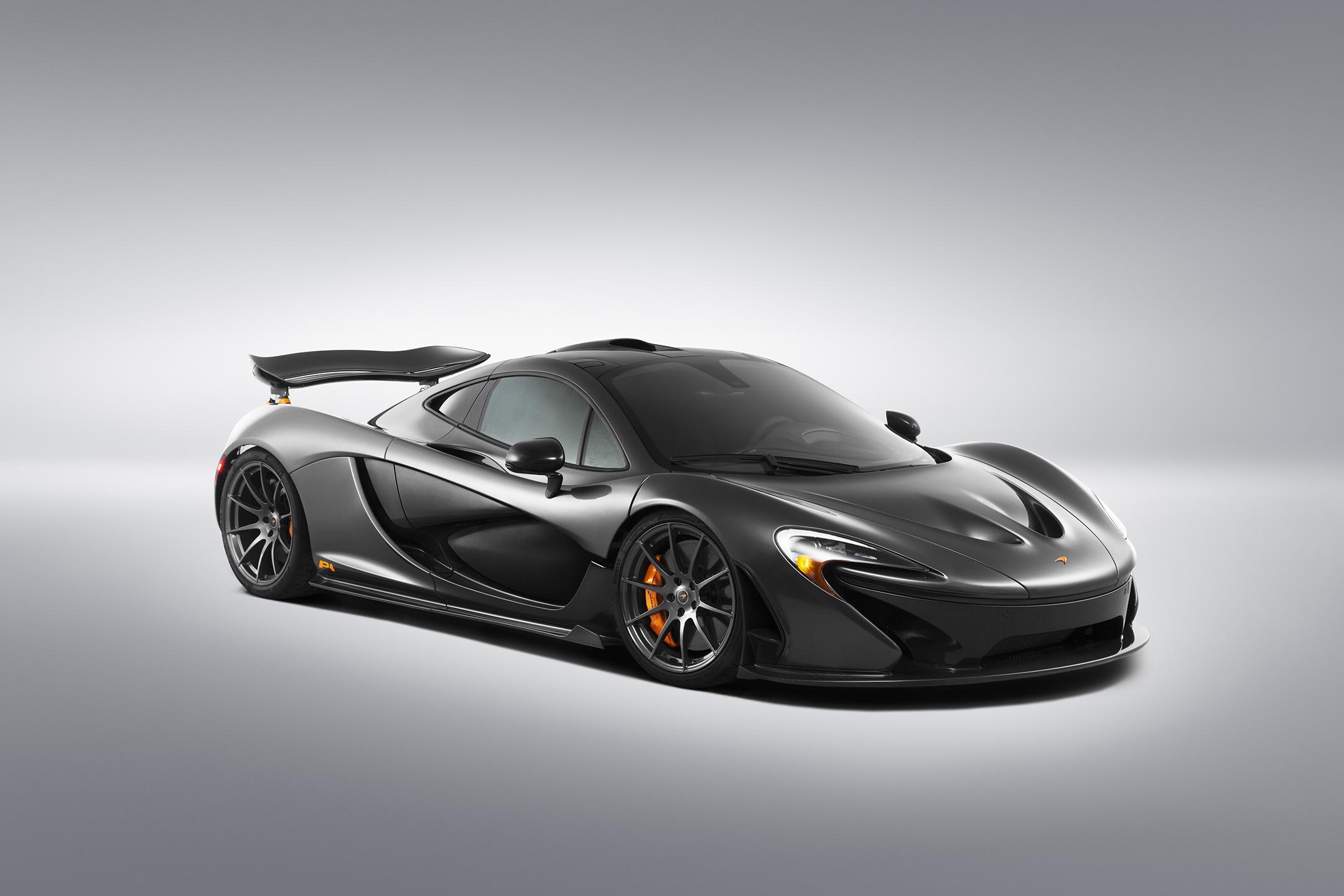 McLaren P1 MSO - 2015 - front side-face / profil avant
