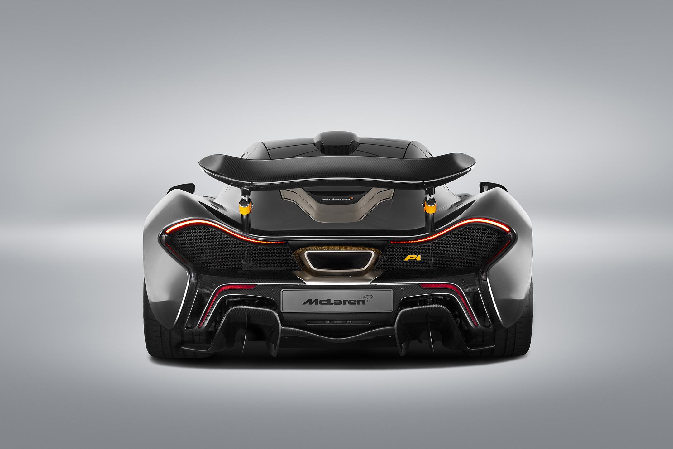 McLaren P1 MSO - 2015 - rear-face / face arrière