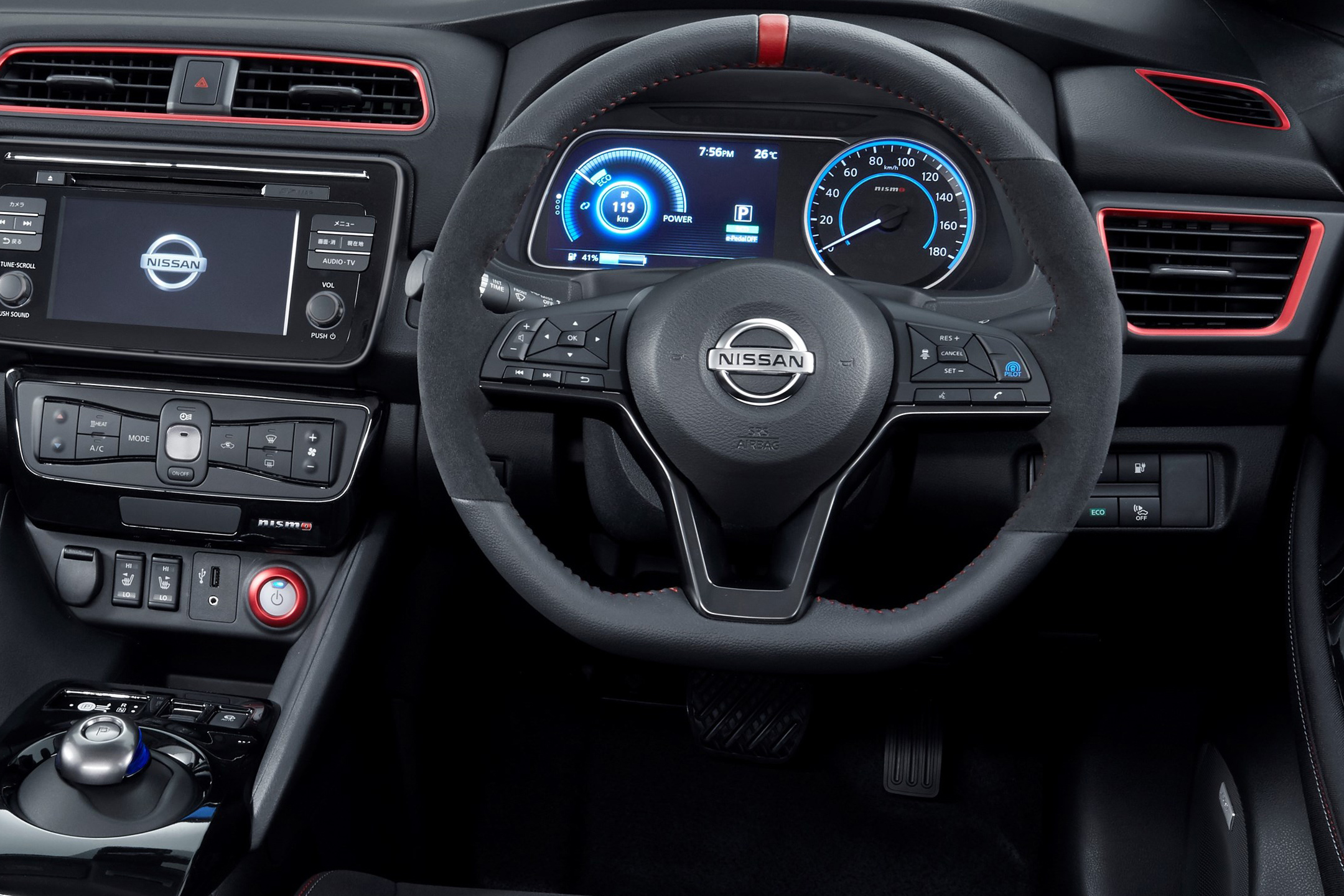 Nissan LEAF NISMO Concept - 2017 - driving wheel / volant