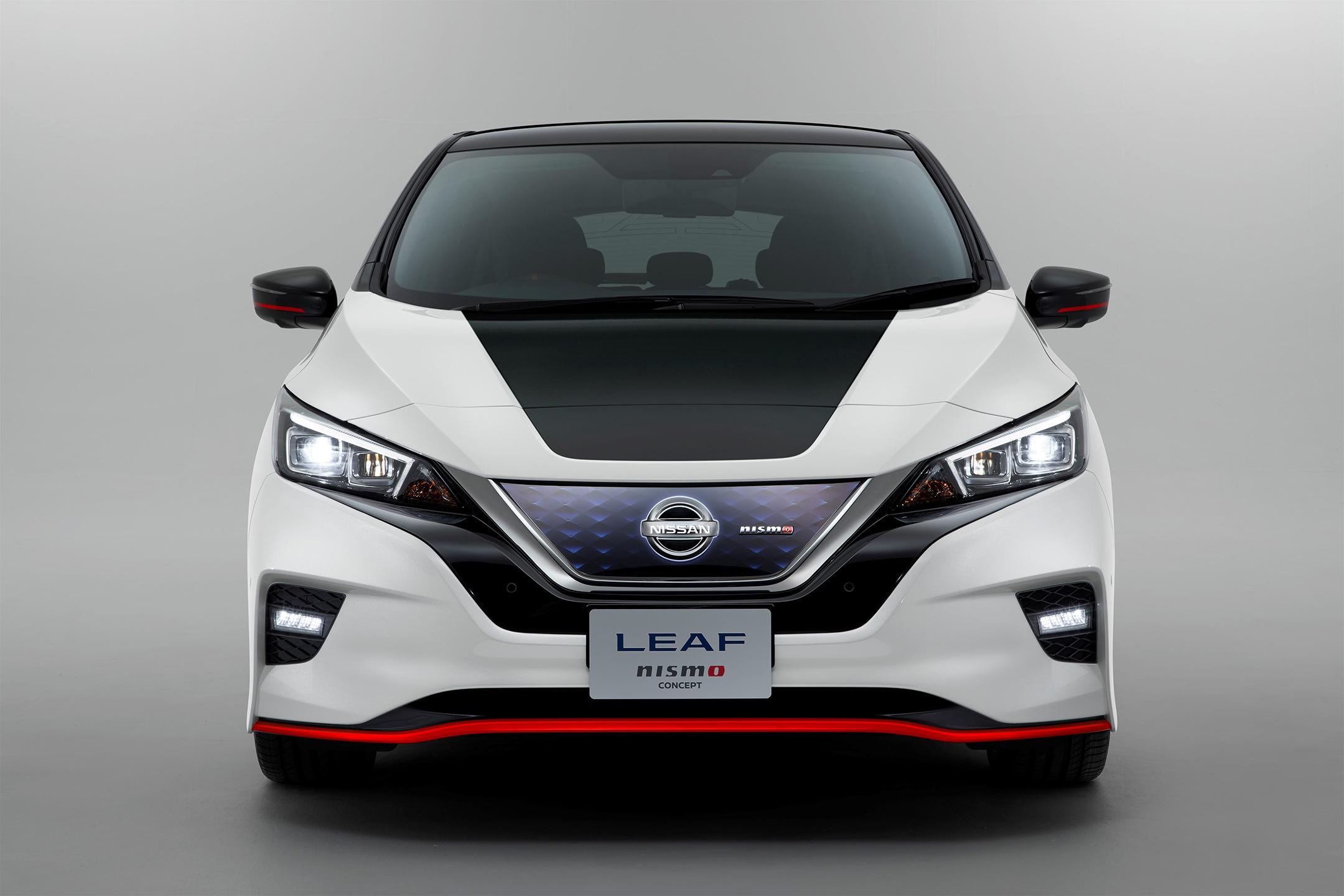 Nissan LEAF NISMO Concept - 2017 - front-face / face avant