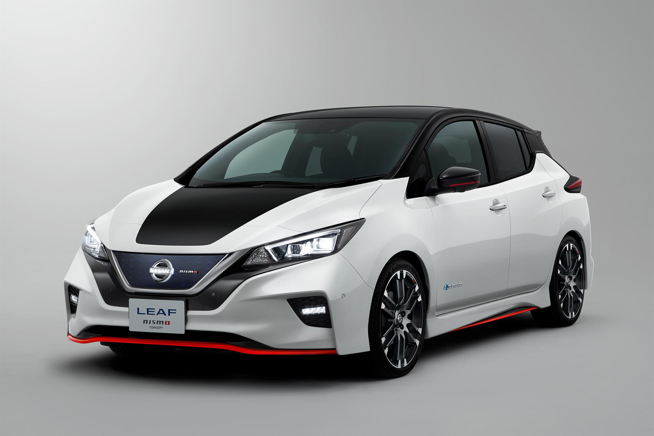 Nissan LEAF NISMO Concept - 2017 - front side-face / profil avant