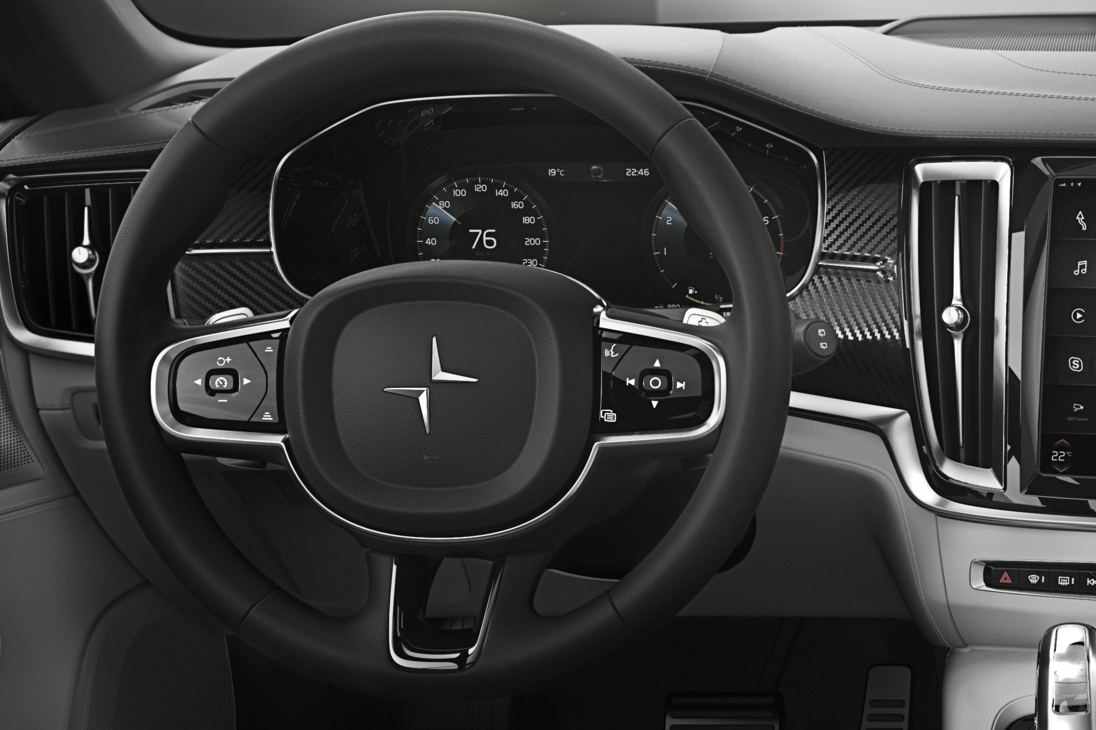 Polestar 1 - 2017 - driving wheel / volant