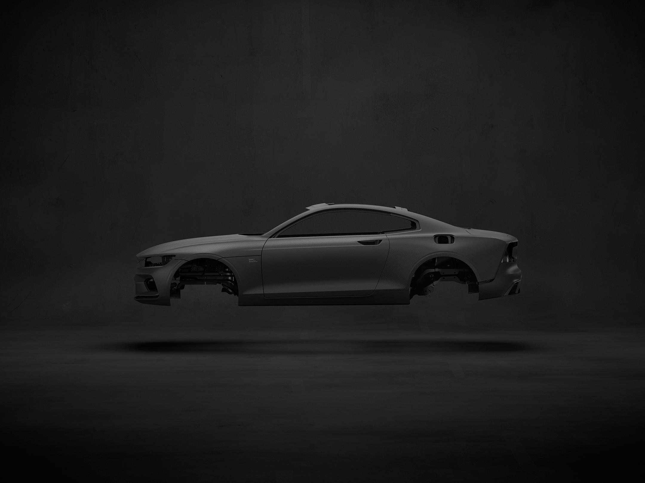 Polestar 1 - 2017 - fiber carbon - Body In White / Caisse En Blanc - fibre de carbon