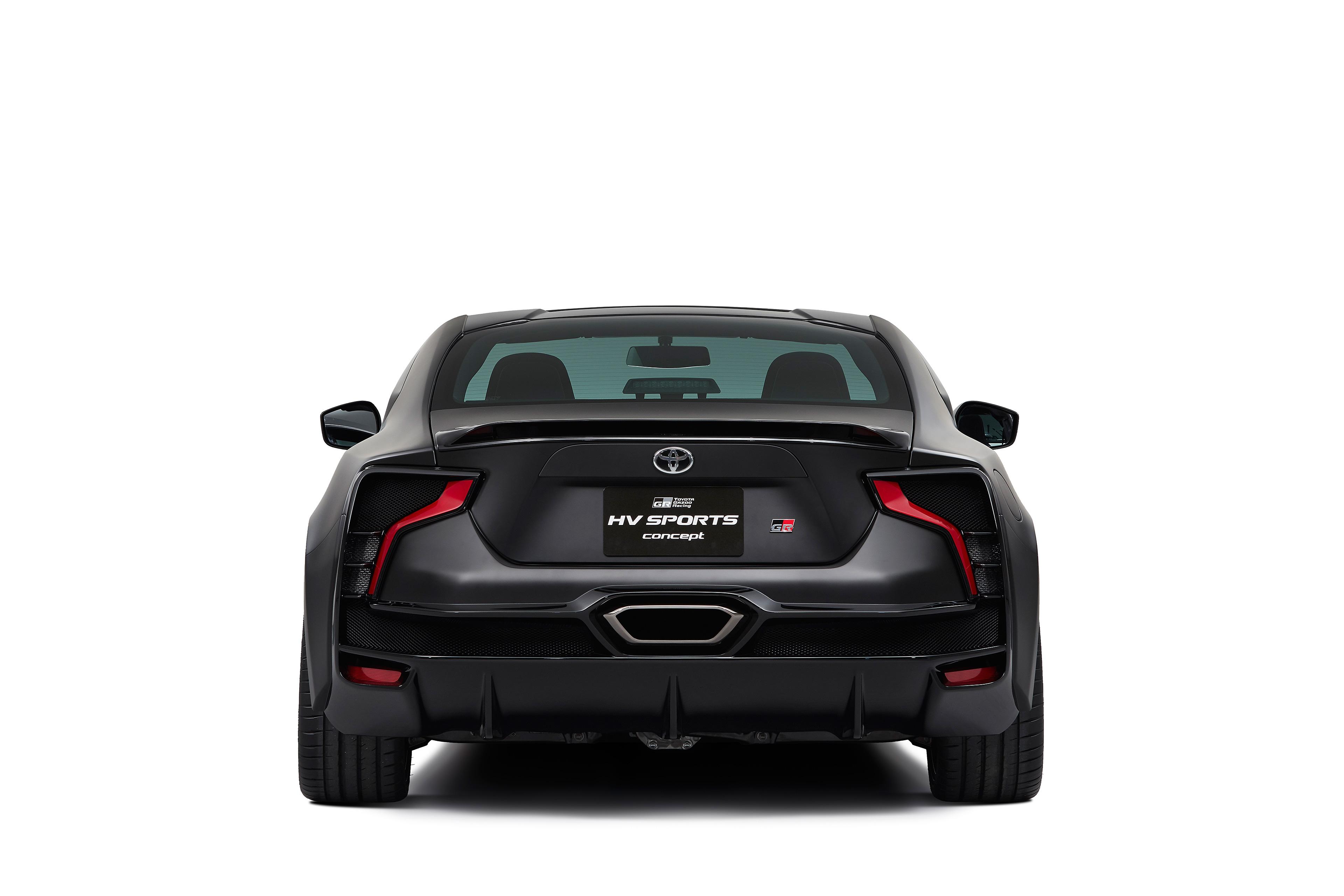 Toyota GR HV SPORTS concept - 2017 - rear-face / face arrière