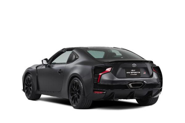 Toyota GR HV SPORTS concept - 2017 - rear side-face / profil arrière