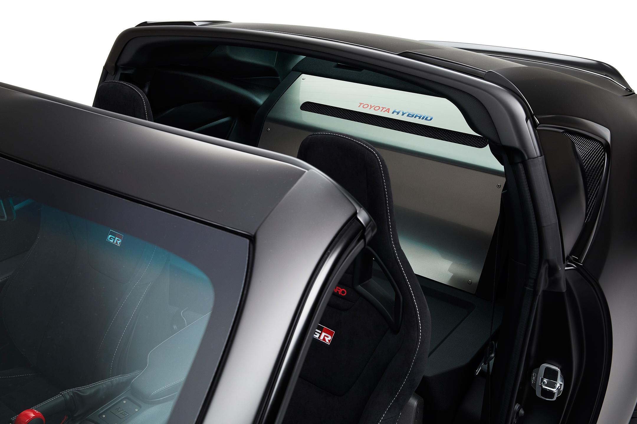 Toyota GR HV SPORTS concept - 2017 - top rear  hood