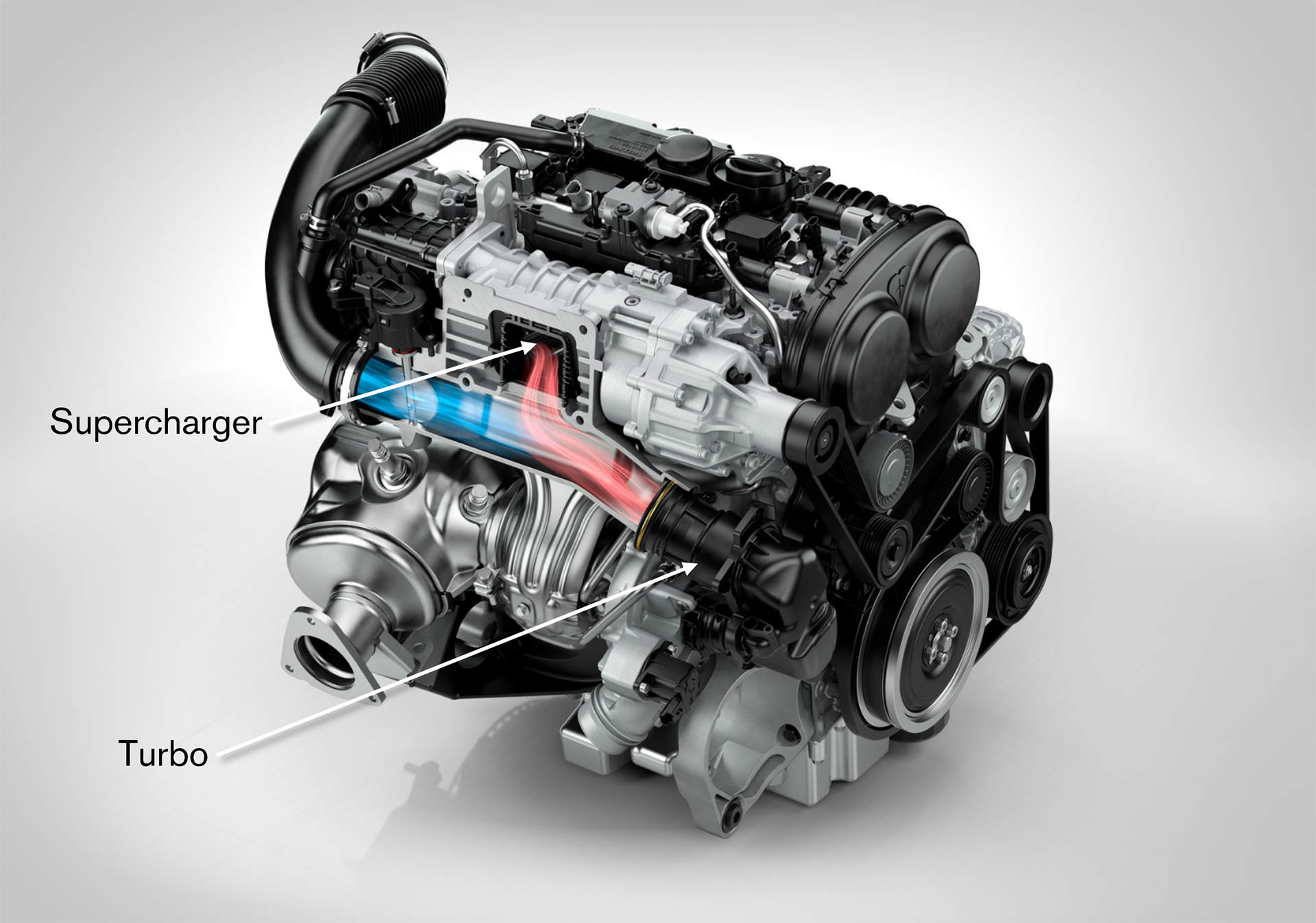 Volvo Cars 2016 - Petrol engine supercharger turbo