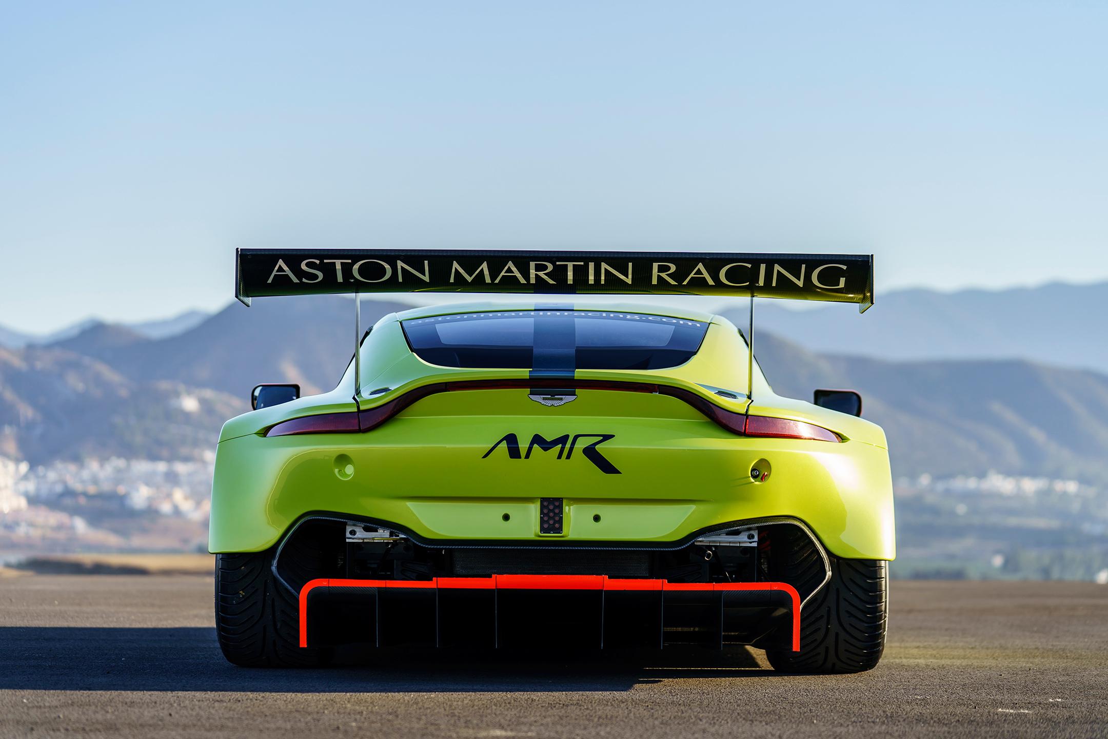 Aston Martin Racing Vantage GTE - 2018 - rear / arrière