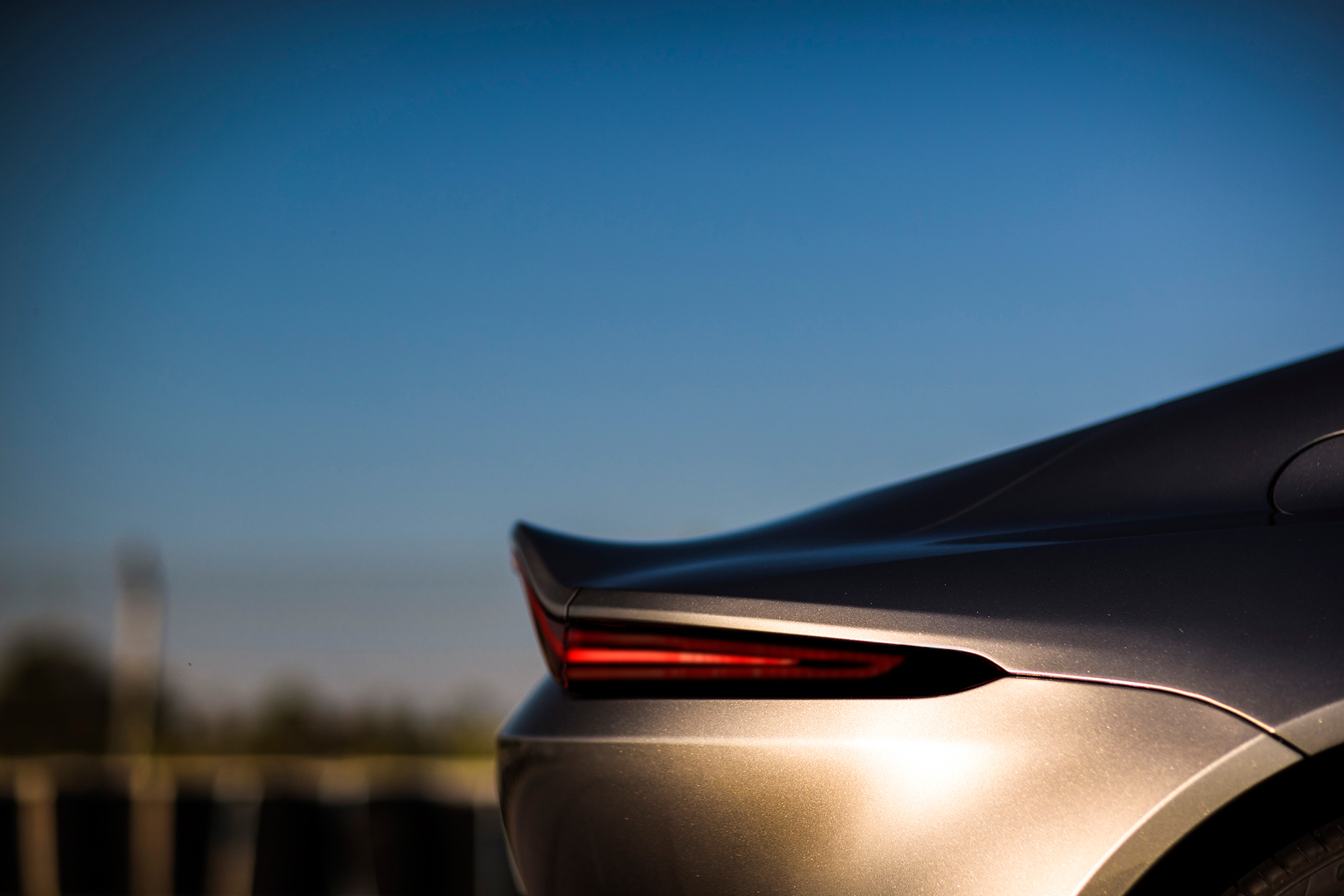 Aston Martin Vantage - 2018 - rear light side view