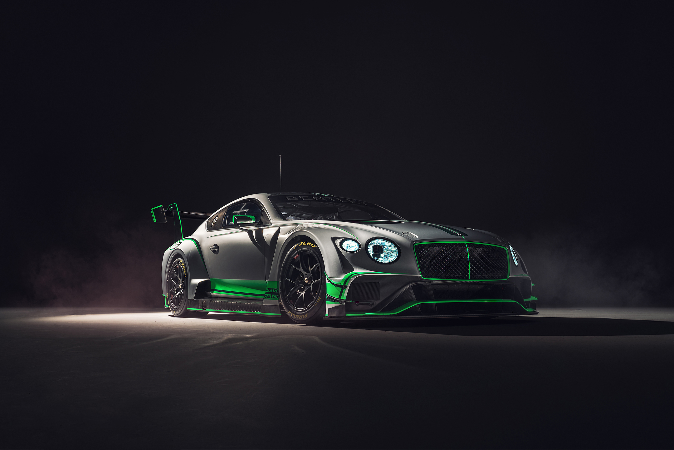Bentley Continental GT3 - 2018 - front side-face / profil avant