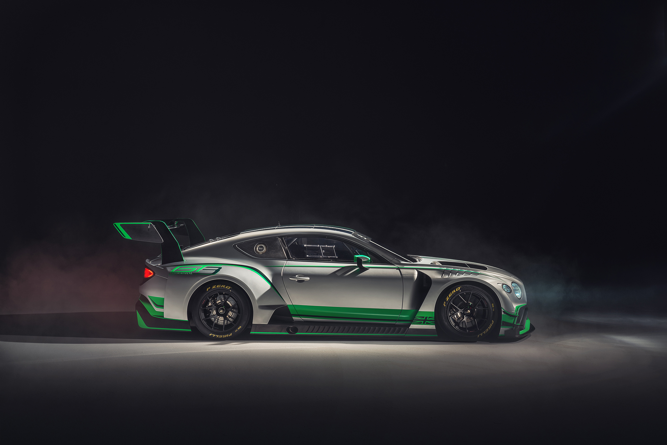 Bentley Continental GT3 - 2018 - side-face / profil