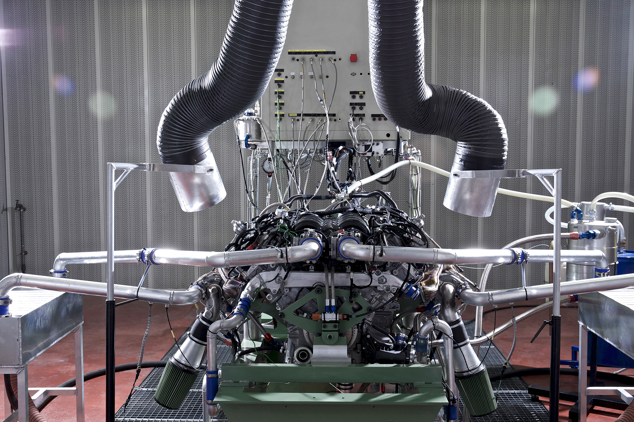 Bentley Continental GT3 - project - V8 - engine / moteur