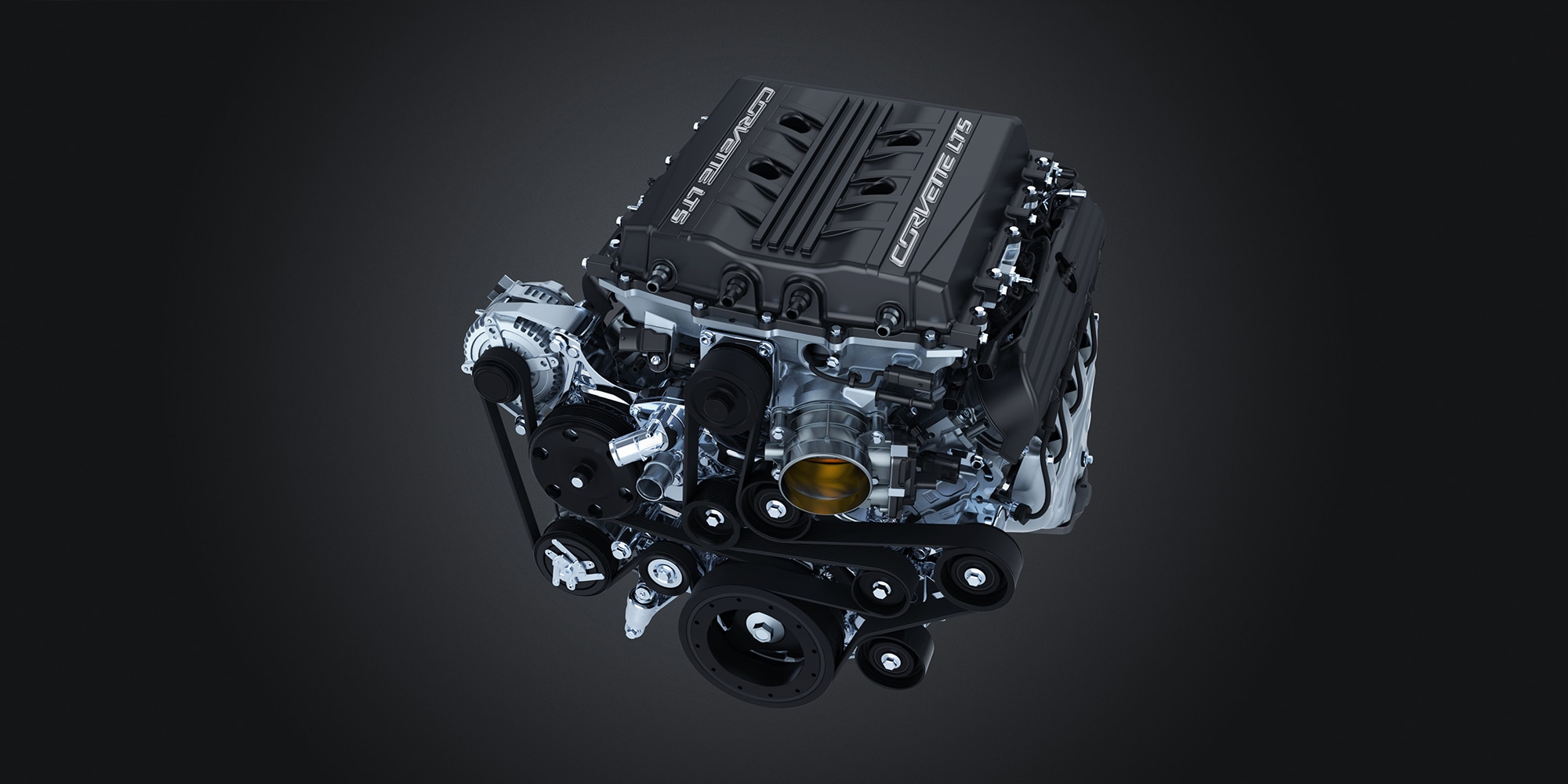Chevrolet Corvette ZR1- 2019 - GM V8 6.2L LT5 - engine / moteur