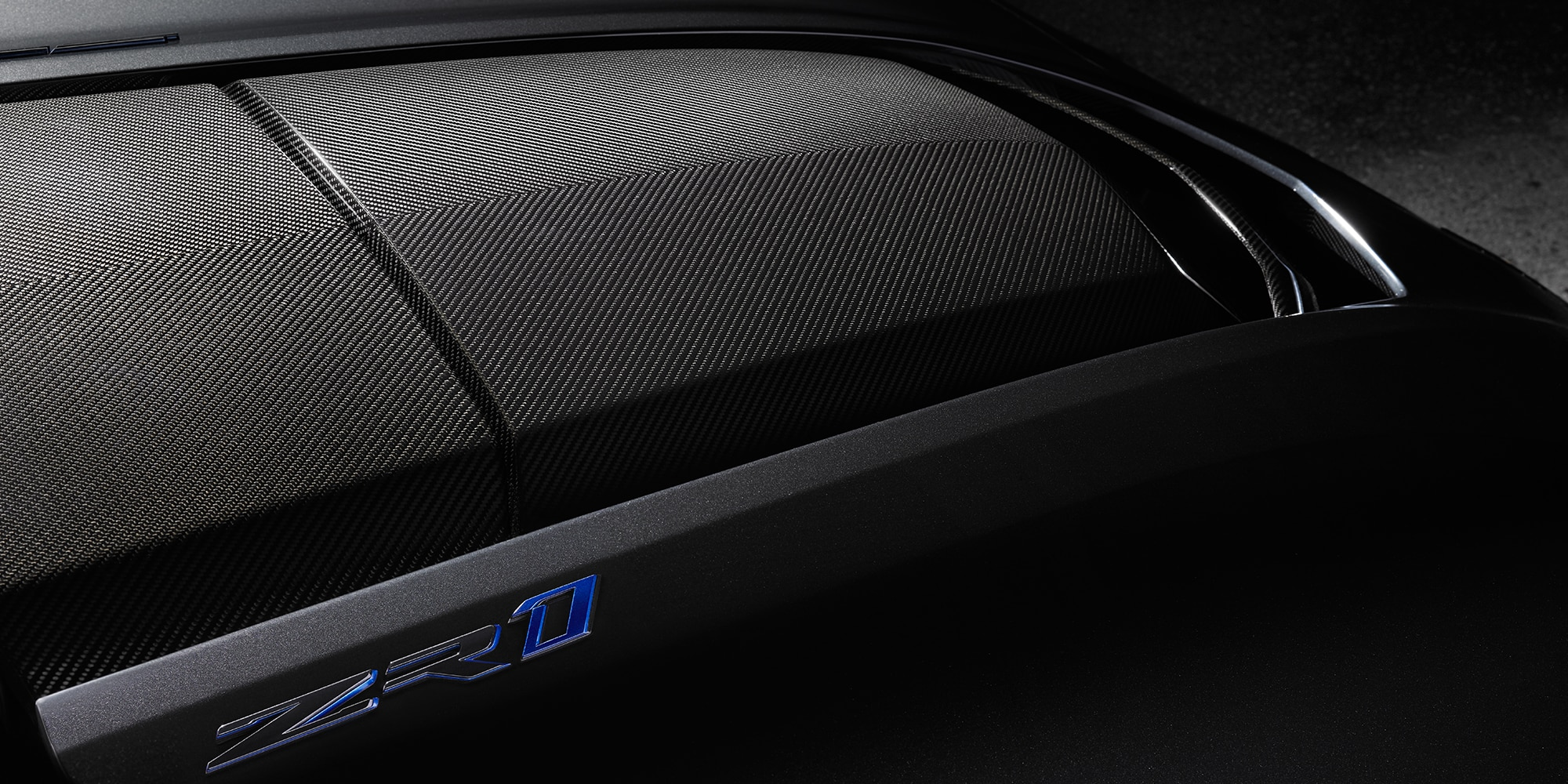 Chevrolet Corvette ZR1 - 2019 - front hood / capot moteur