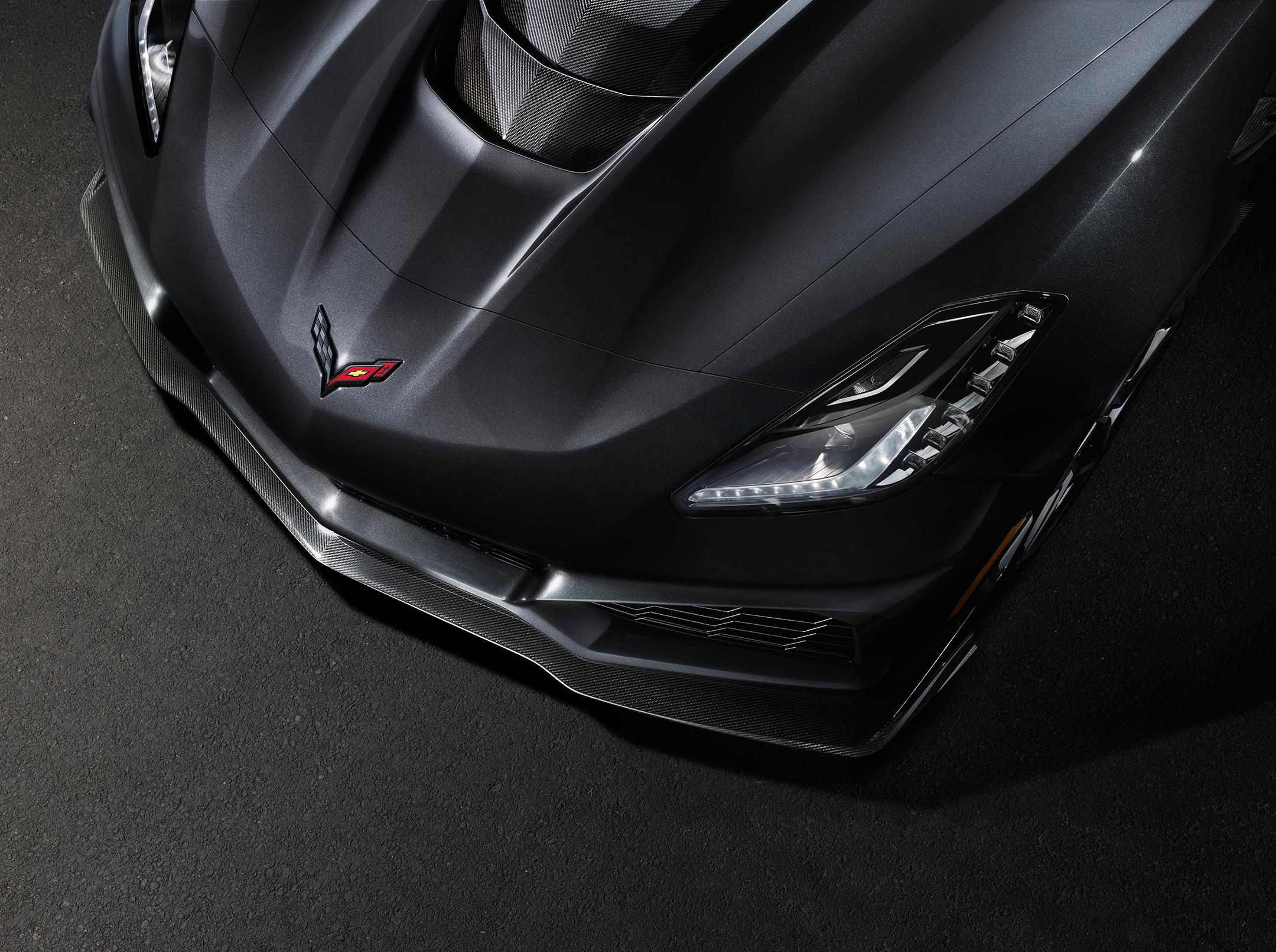 Chevrolet Corvette ZR1 - 2019 - front light