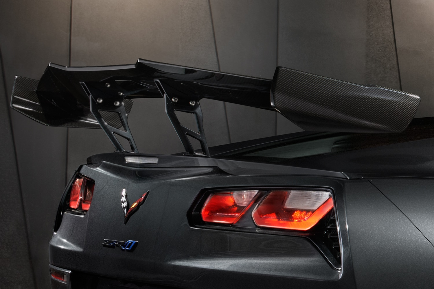 Chevrolet Corvette ZR1 - 2019 - rear high wing