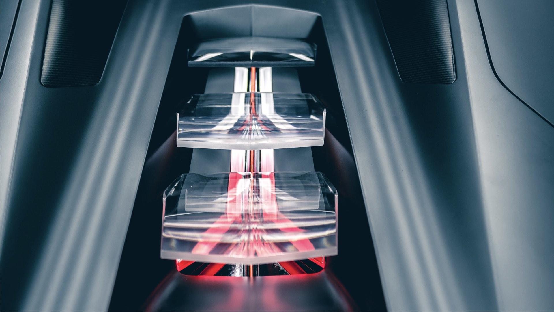 Lamborghini Terzo Millennio - 2017 - top zoom