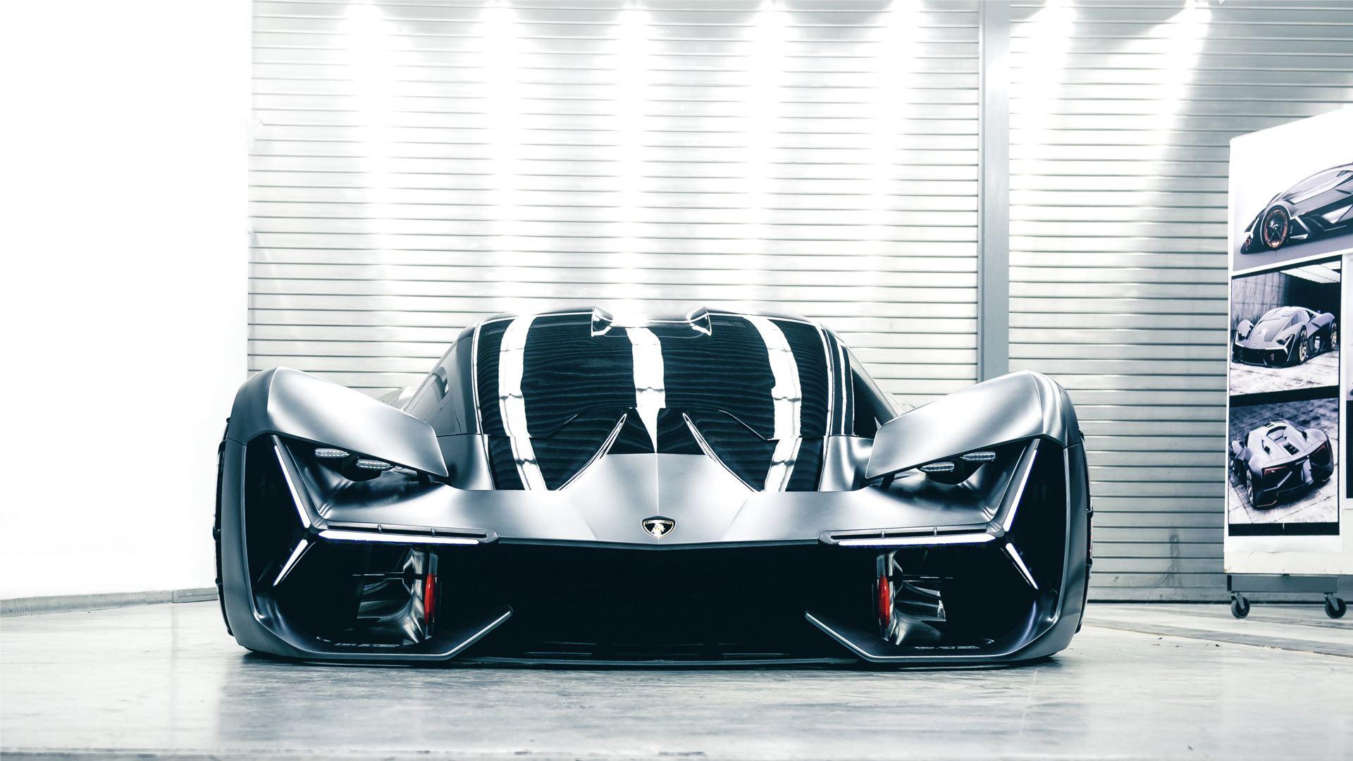 Lamborghini Terzo Millennio - 2017 - front / avant