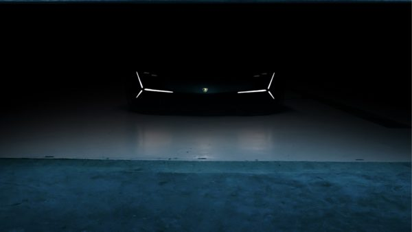 Lamborghini Terzo Millennio - 2017 - front light