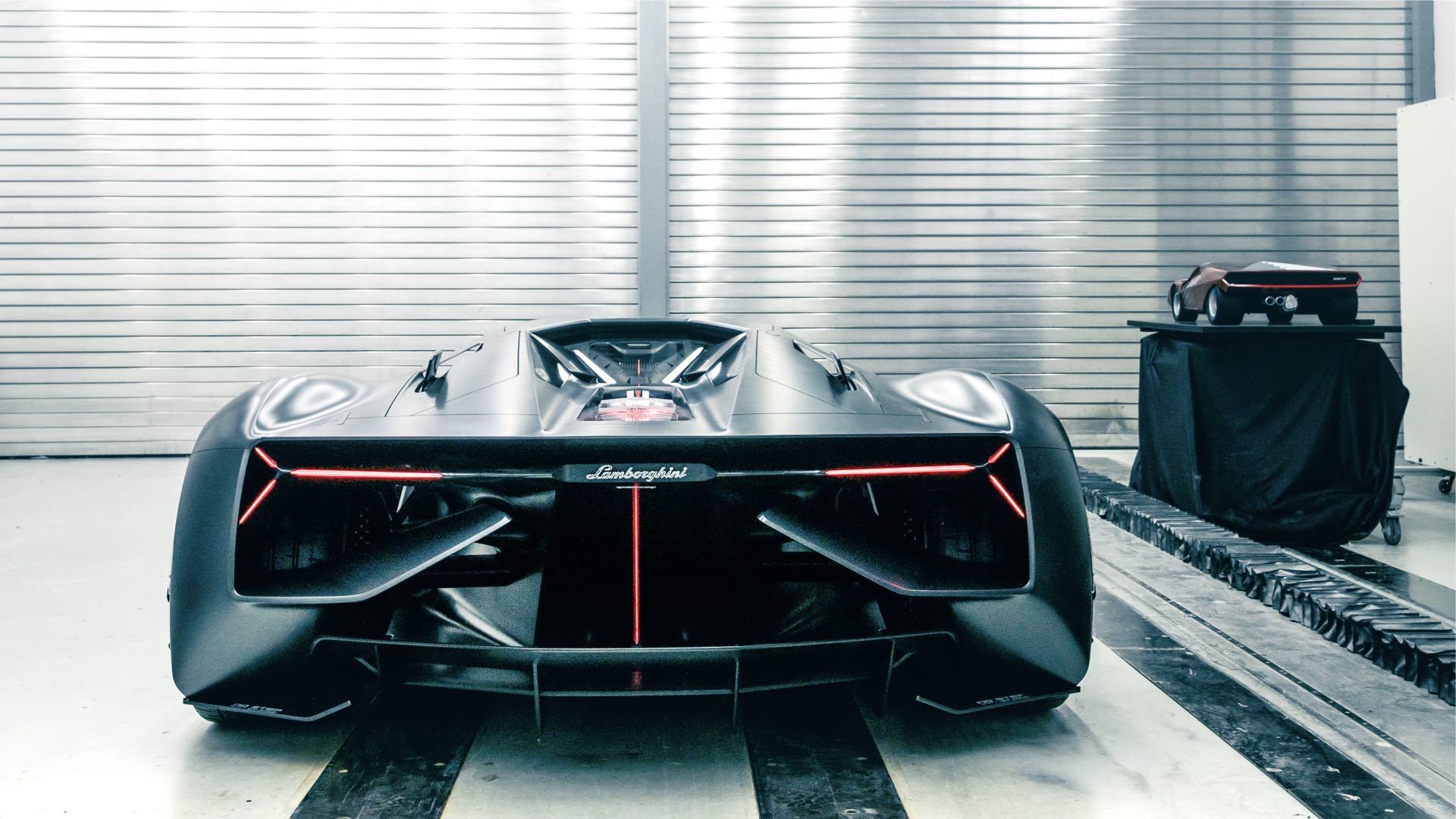 Lamborghini Terzo Millennio - 2017 - rear / arrière