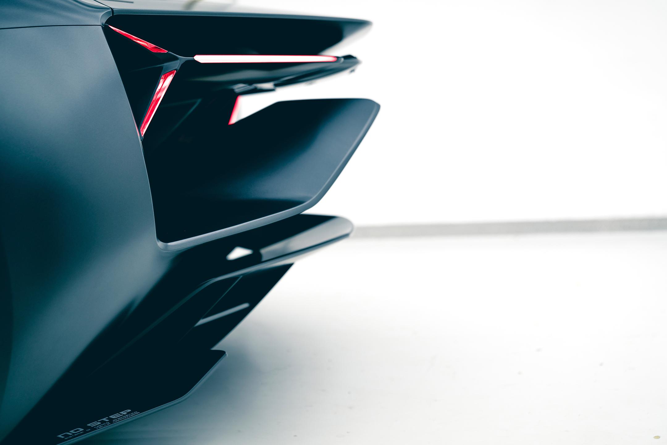 Lamborghini Terzo Millennio - 2017 - side rear light