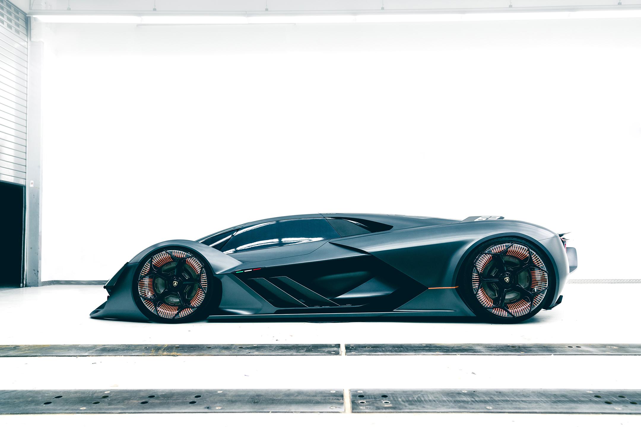 Lamborghini Terzo Millennio - 2017 - side-face / profil