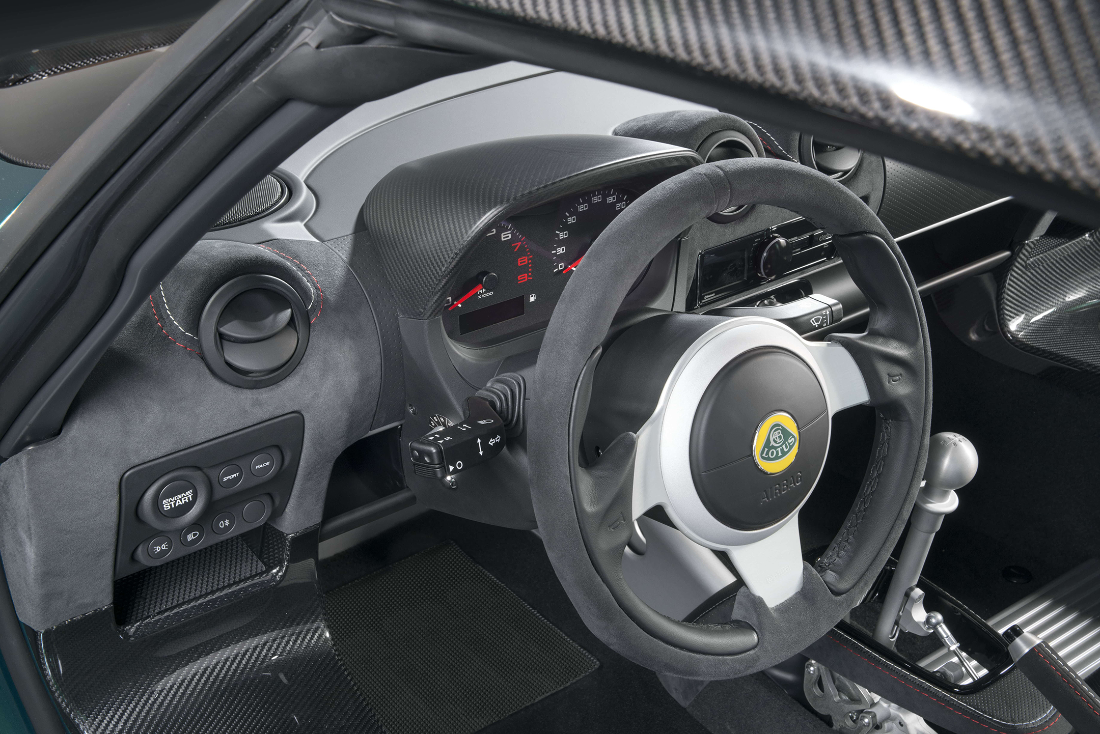 Lotus Exige Cup 430 - 2017 - driving wheel / volant