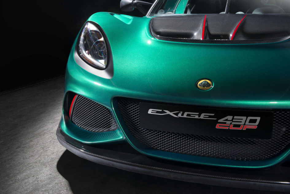 Lotus Exige Cup 430 - 2017 - front light