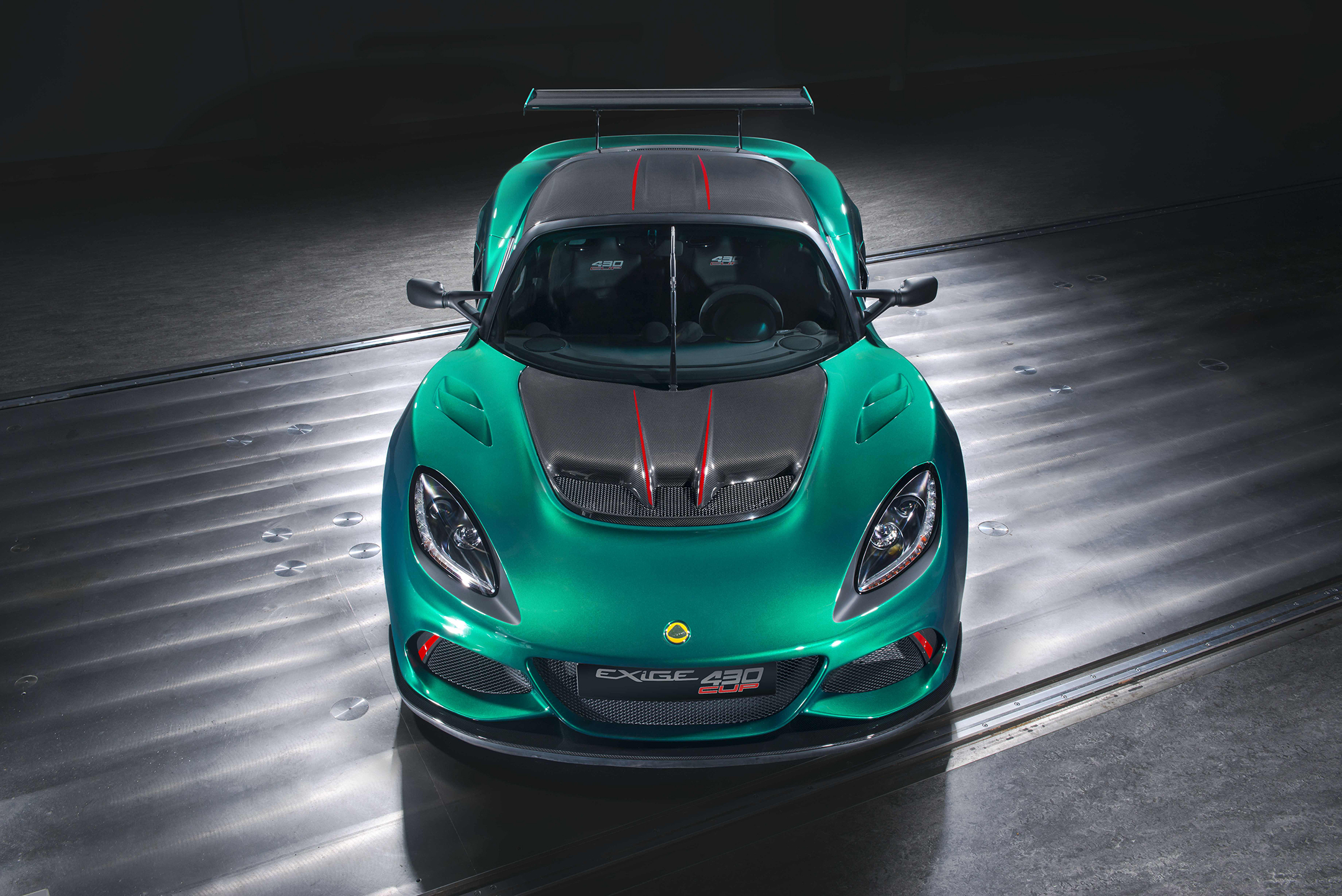 Lotus Exige Cup 430 - 2017 - top view front