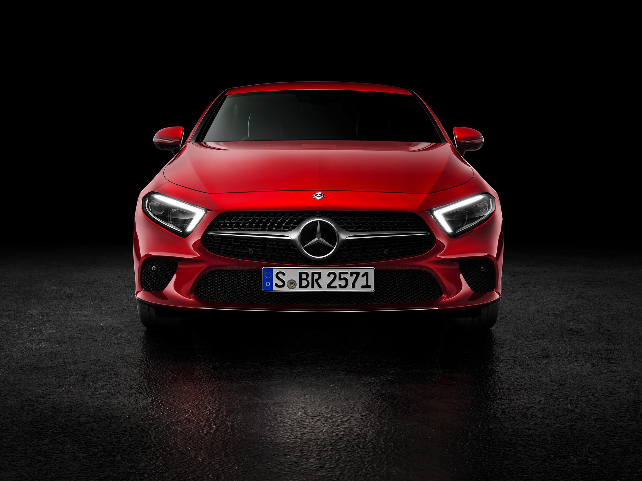 Mercedes-Benz - CLS - 2018 - front face / face avant