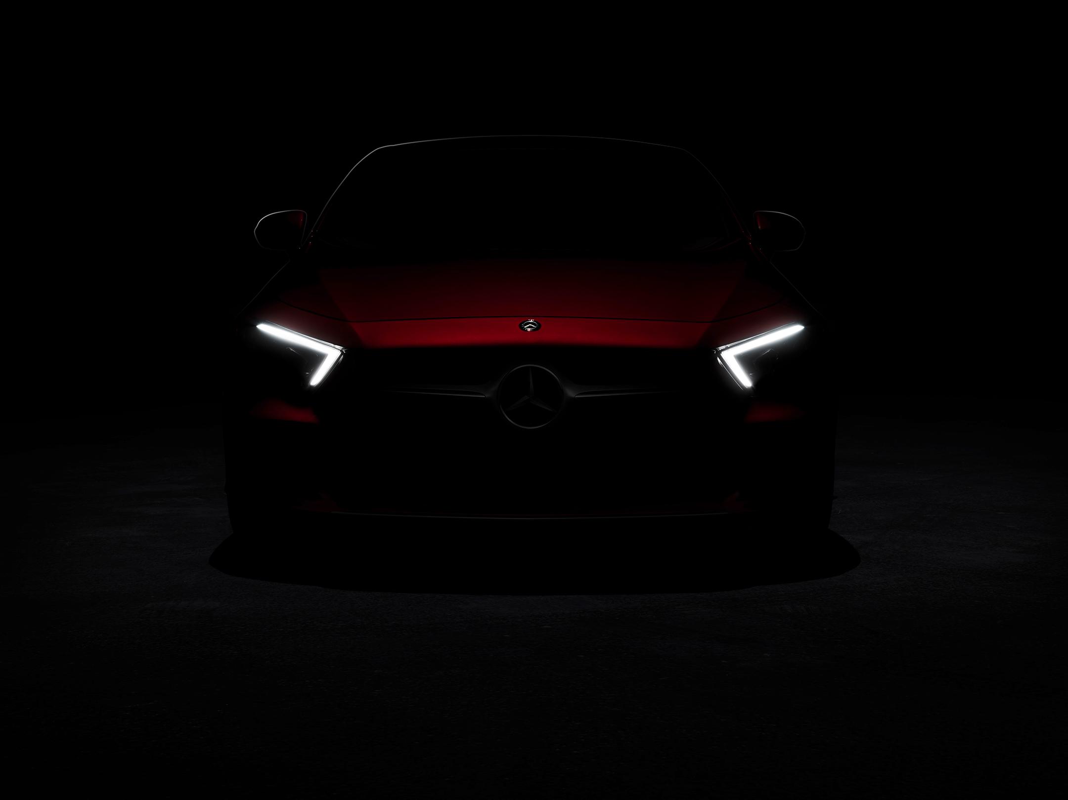 Mercedes-Benz - CLS - 2018 - front light