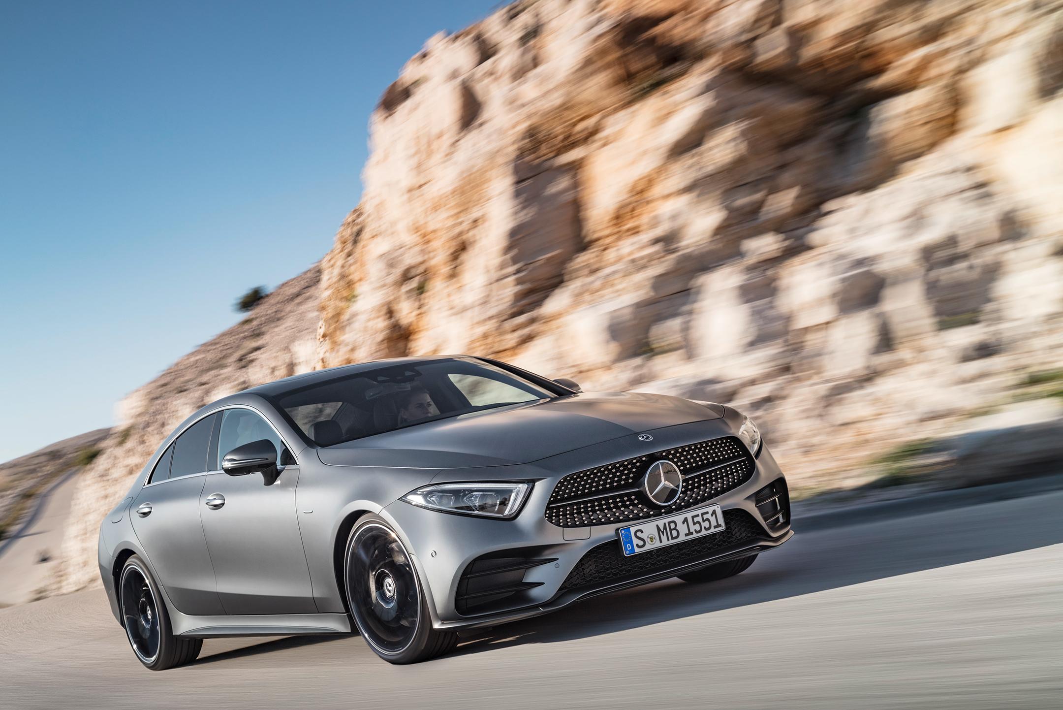 Mercedes-Benz - CLS - 2018 - front road