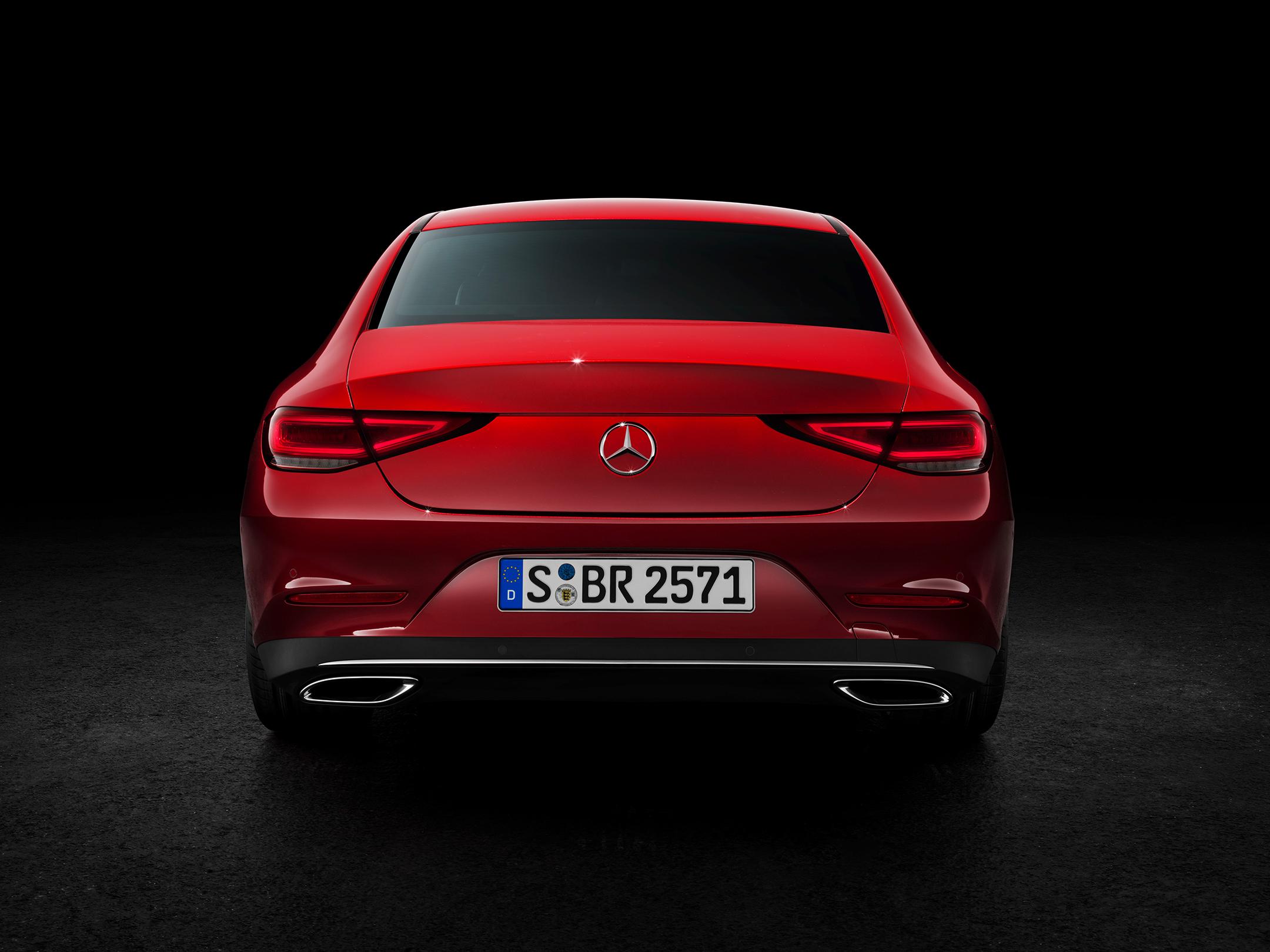 Mercedes-Benz - CLS - 2018 - rear / arrière