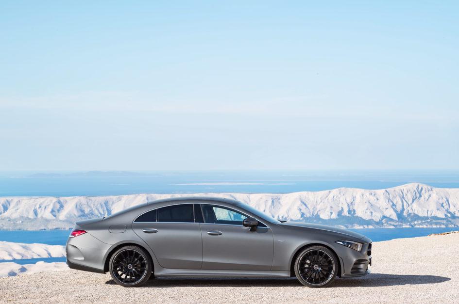 Mercedes-Benz - CLS - 2018 - side-face / profil