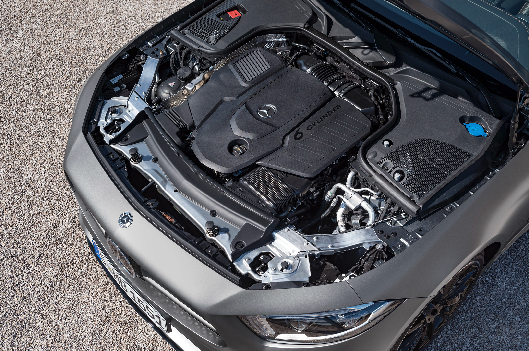 Mercedes-Benz CLS 450 AMG Line - Edition 1 (C257) - 2018 - Under the hood